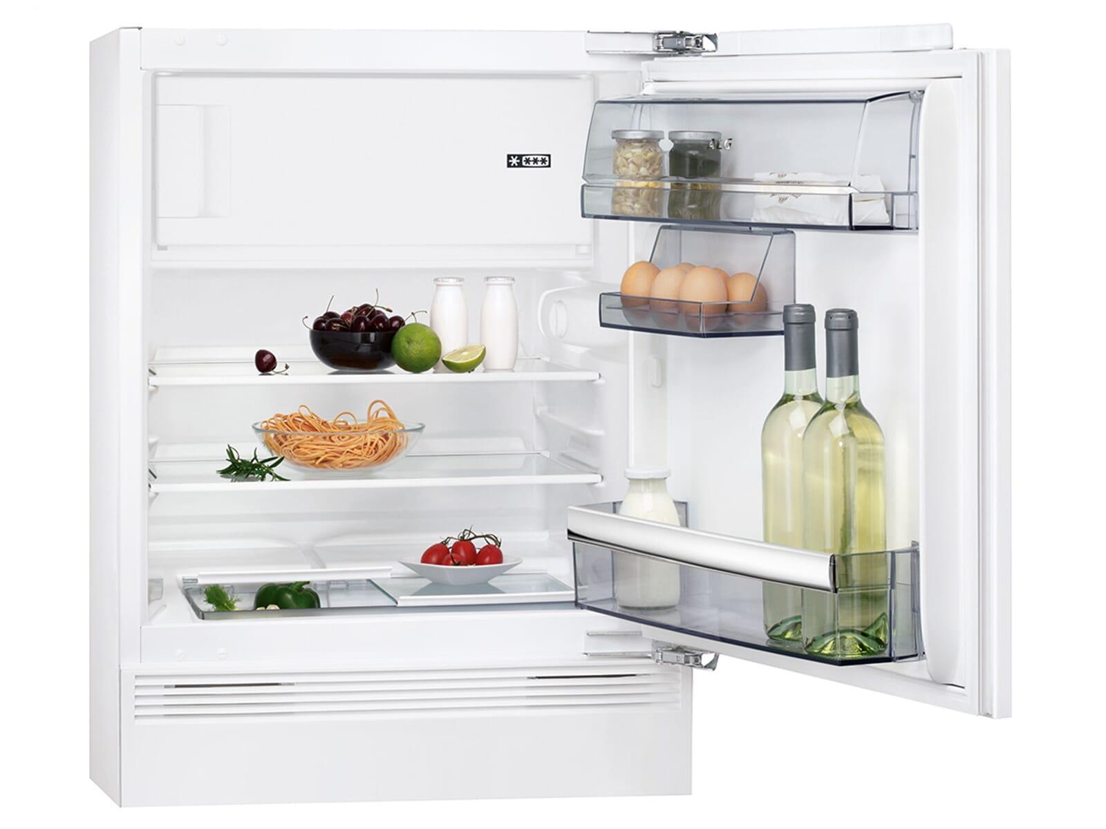 Aeg Kühlschrank Festtür Montage : Aeg sfb af unterbaukühlschrank