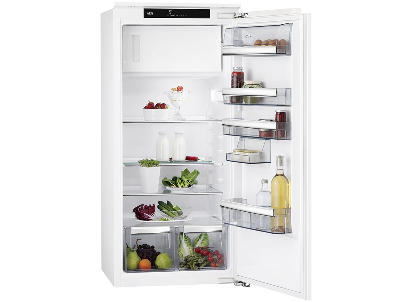 Aeg Kühlschrank A Mit Gefrierfach : Aeg sfe81241ac einbaukühlschrank