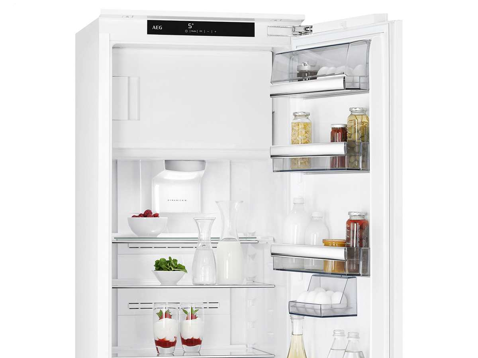 Smeg Kühlschrank Innenansicht : Aeg sfe zc einbaukühlschrank