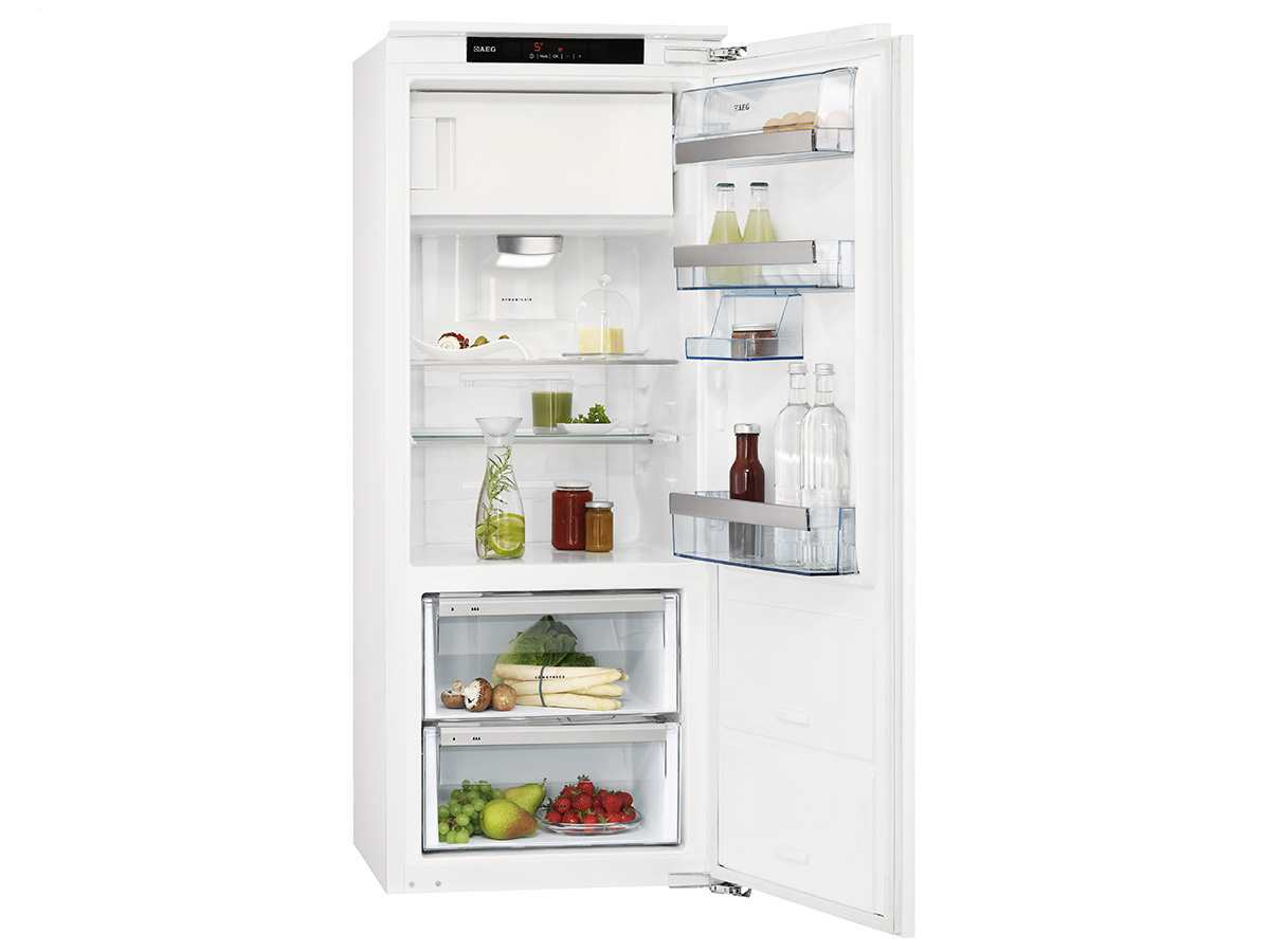 Aeg Kühlschrank Einbau : Aeg skz c einbaukühlschrank