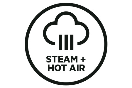 Steam + Hot Air