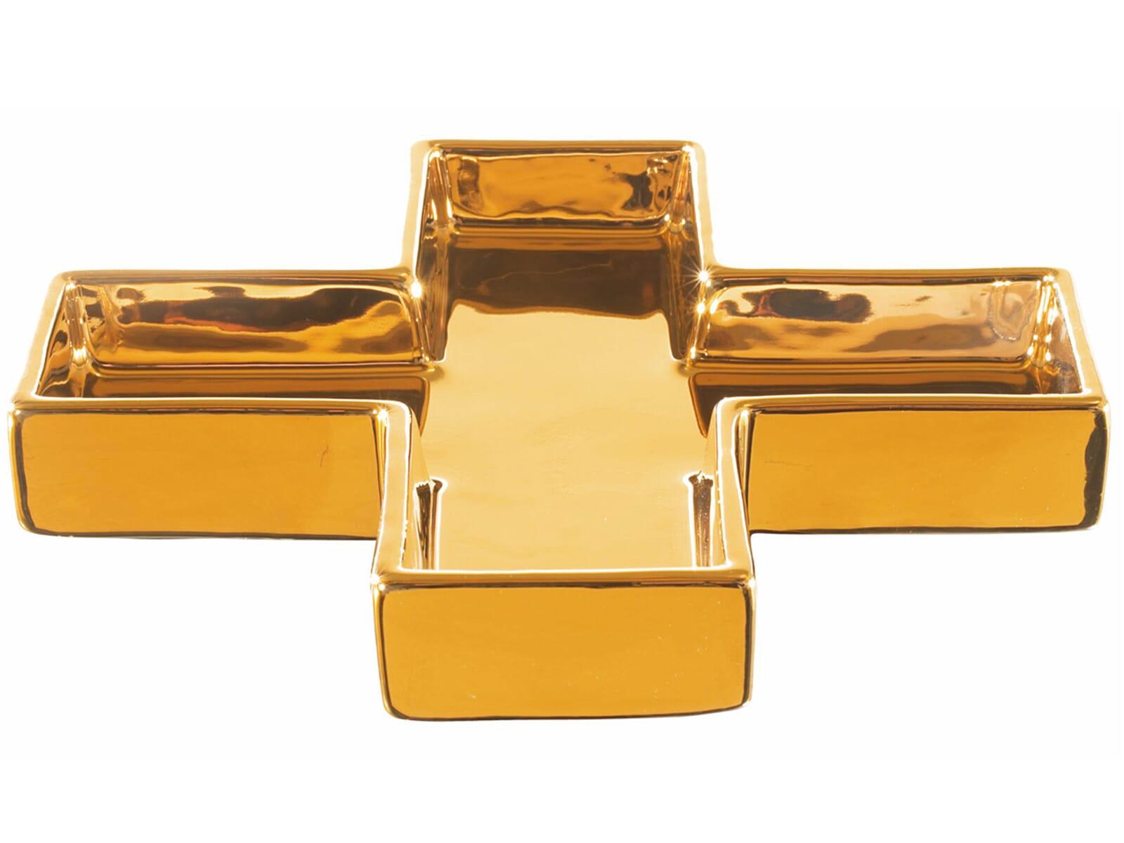 ASA aurum 95234/015 Schale Kreuz Gold