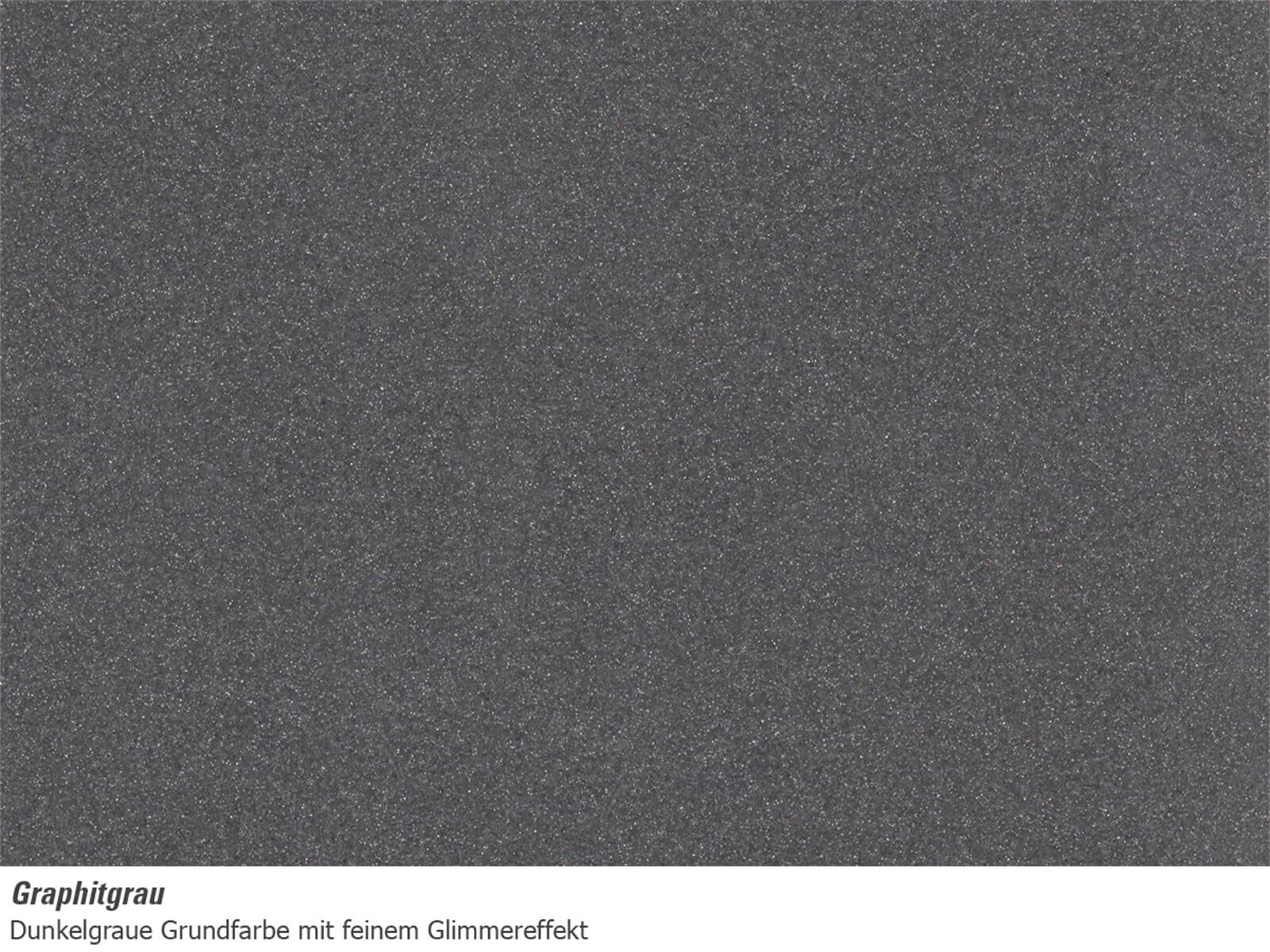 Astracast Vortex Graphitgrau Granit-Abtropffläche