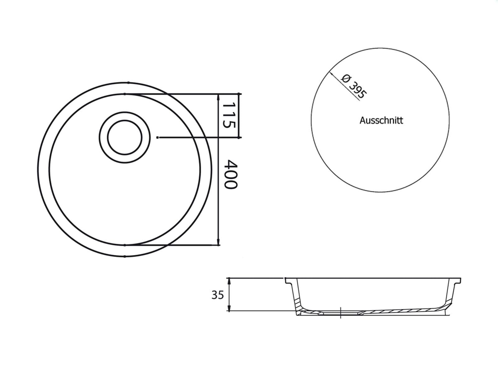 Astracast Lincoln R2 Weiß Hochglanz Keramik-Abtropffläche