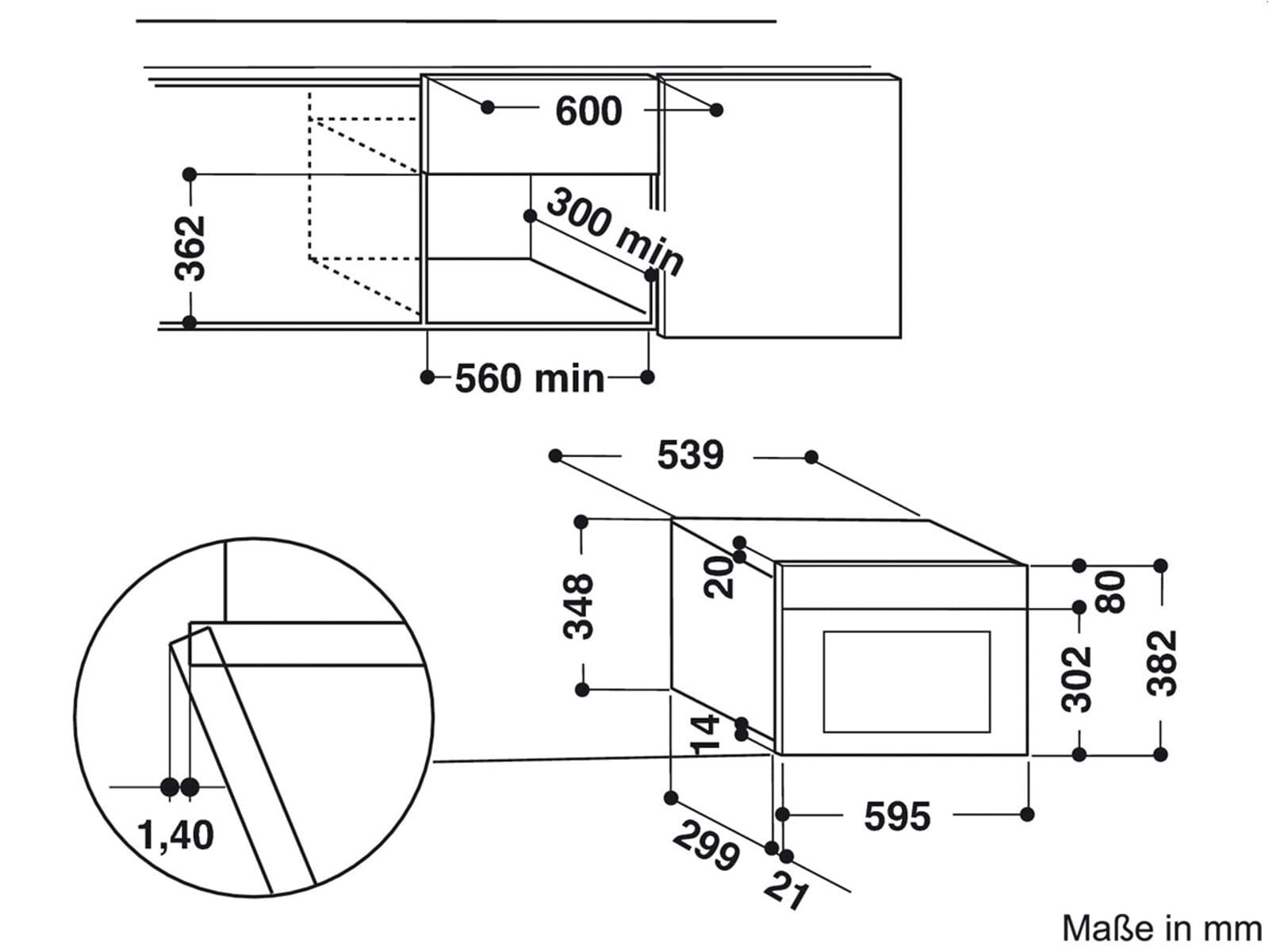 bauknecht emnk5 2238 pt einbau mikrowelle edelstahl. Black Bedroom Furniture Sets. Home Design Ideas