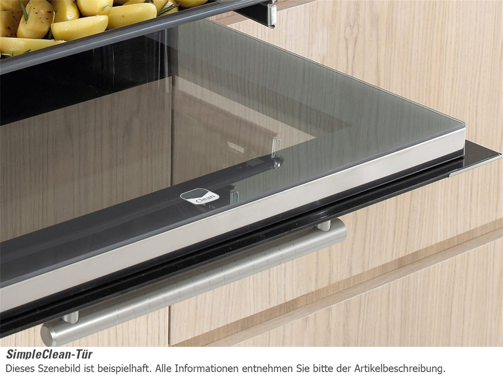 Bauknecht BLCK 8251 IN Backofen Edelstahl
