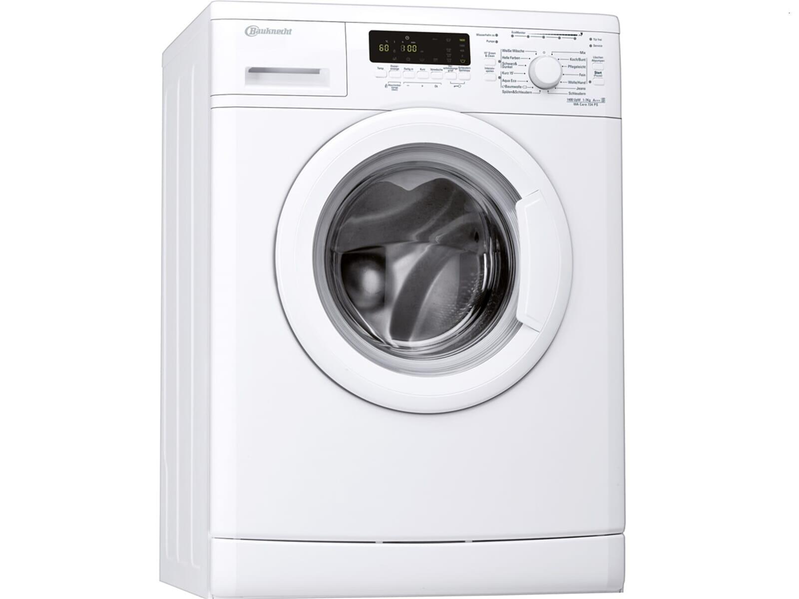 bauknecht waschmaschine eek. Black Bedroom Furniture Sets. Home Design Ideas