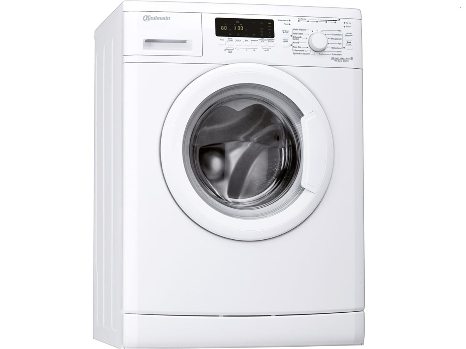 bauknecht wa care 824 ps waschmaschine wei. Black Bedroom Furniture Sets. Home Design Ideas
