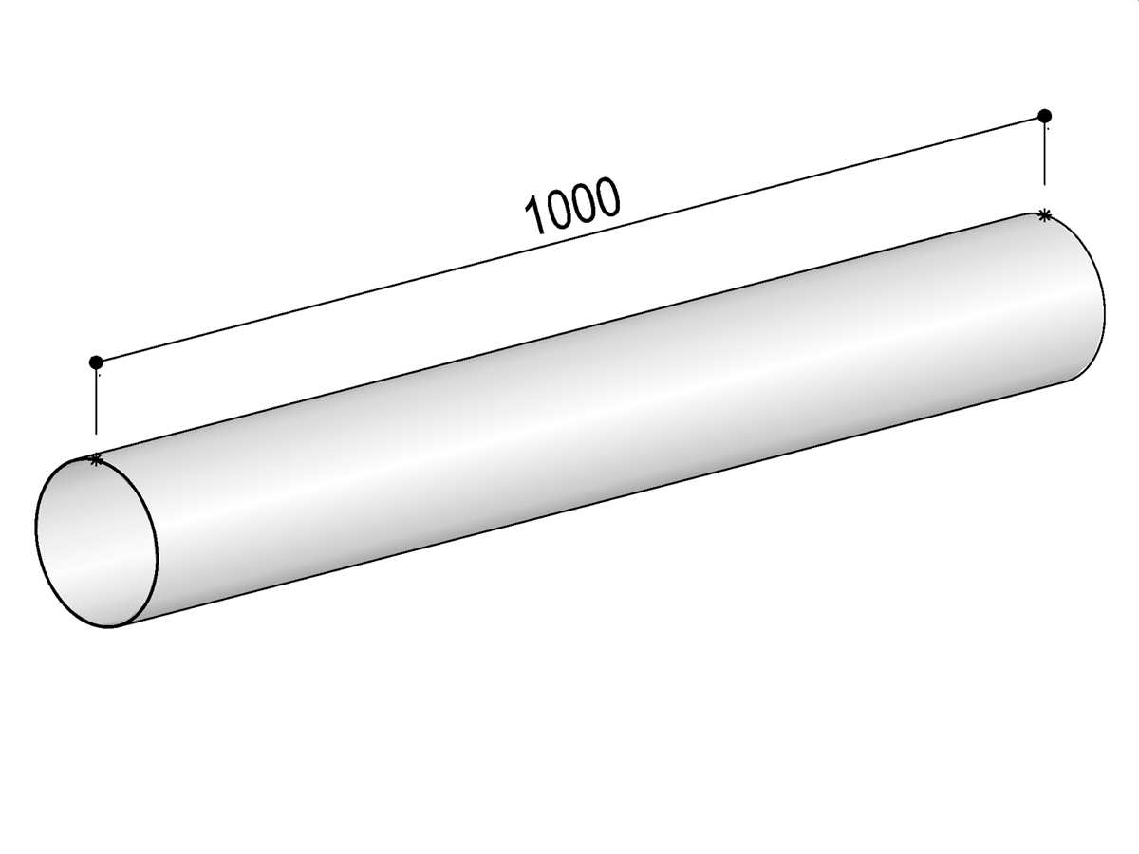 Berbel Rundrohr System 125 - Rundrohr