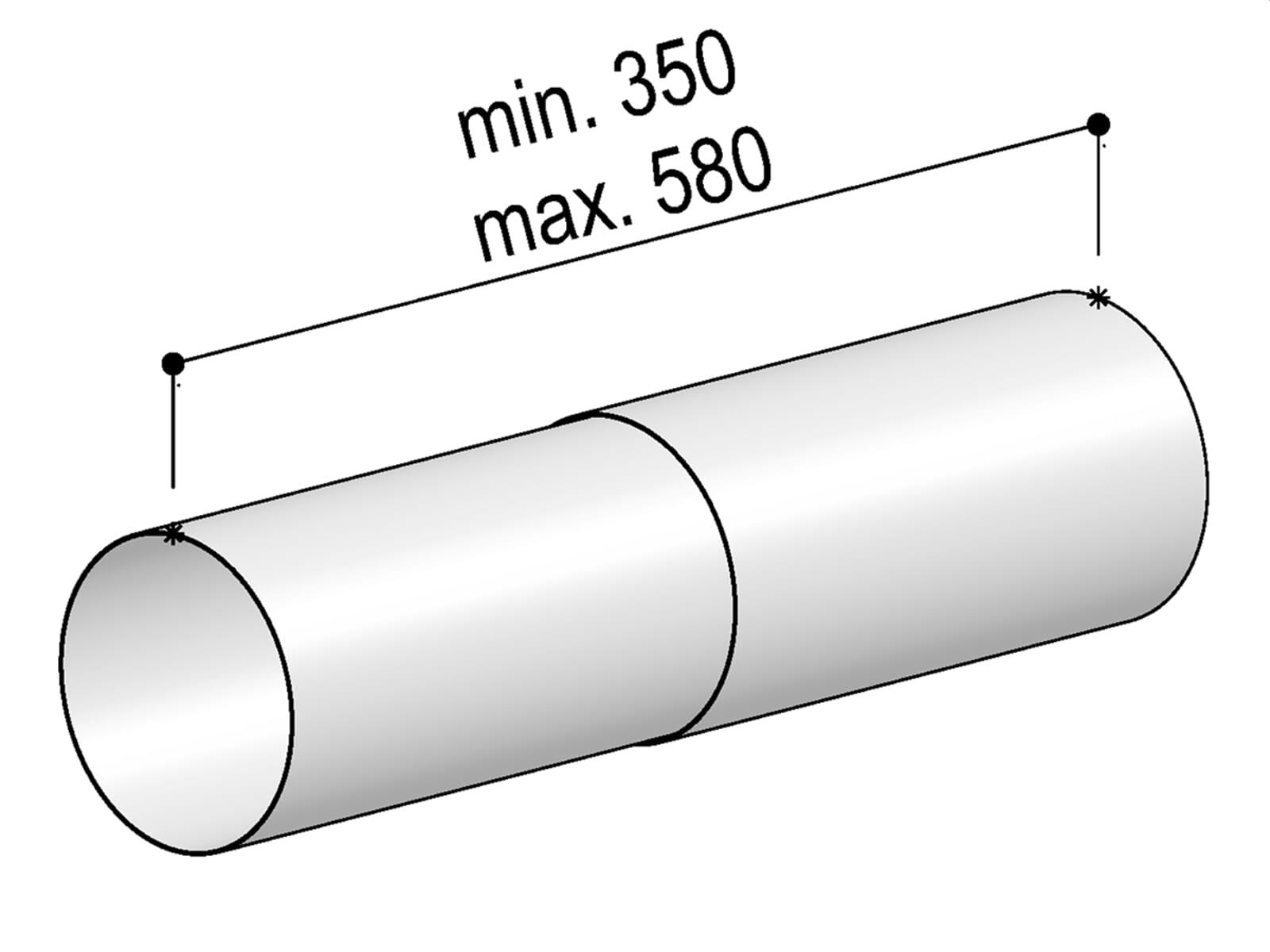Berbel Rundrohr System 150 - Teleskop-Rundrohr