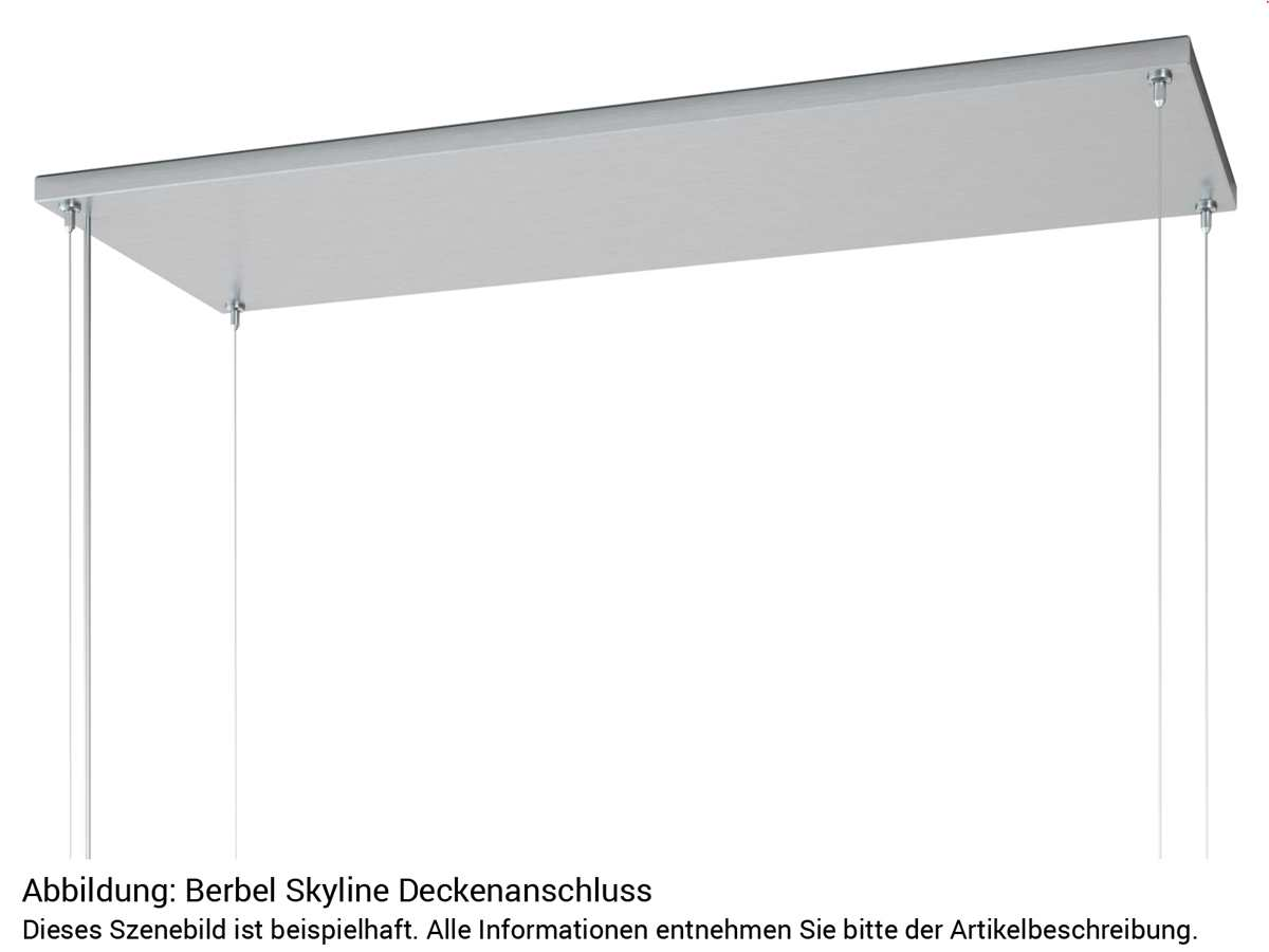 Berbel Skyline BDL 115 SK Deckenlifthaube Schwarz