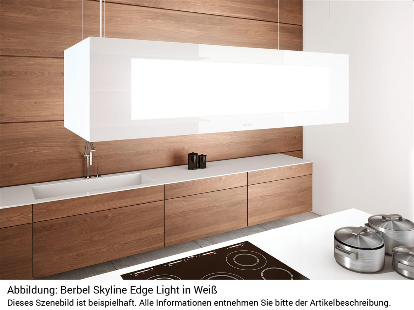 Berbel Skyline Edge Light BDL 95 SKE-L Deckenlifthaube Weiß