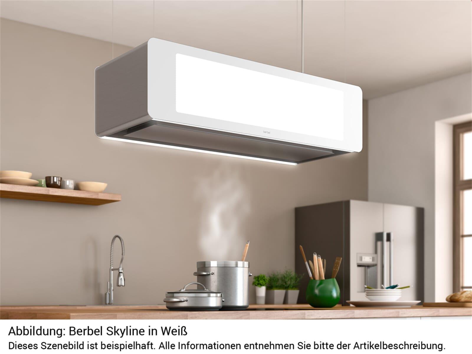 Berbel Skyline BDL 115 SK Deckenlifthaube Weiß