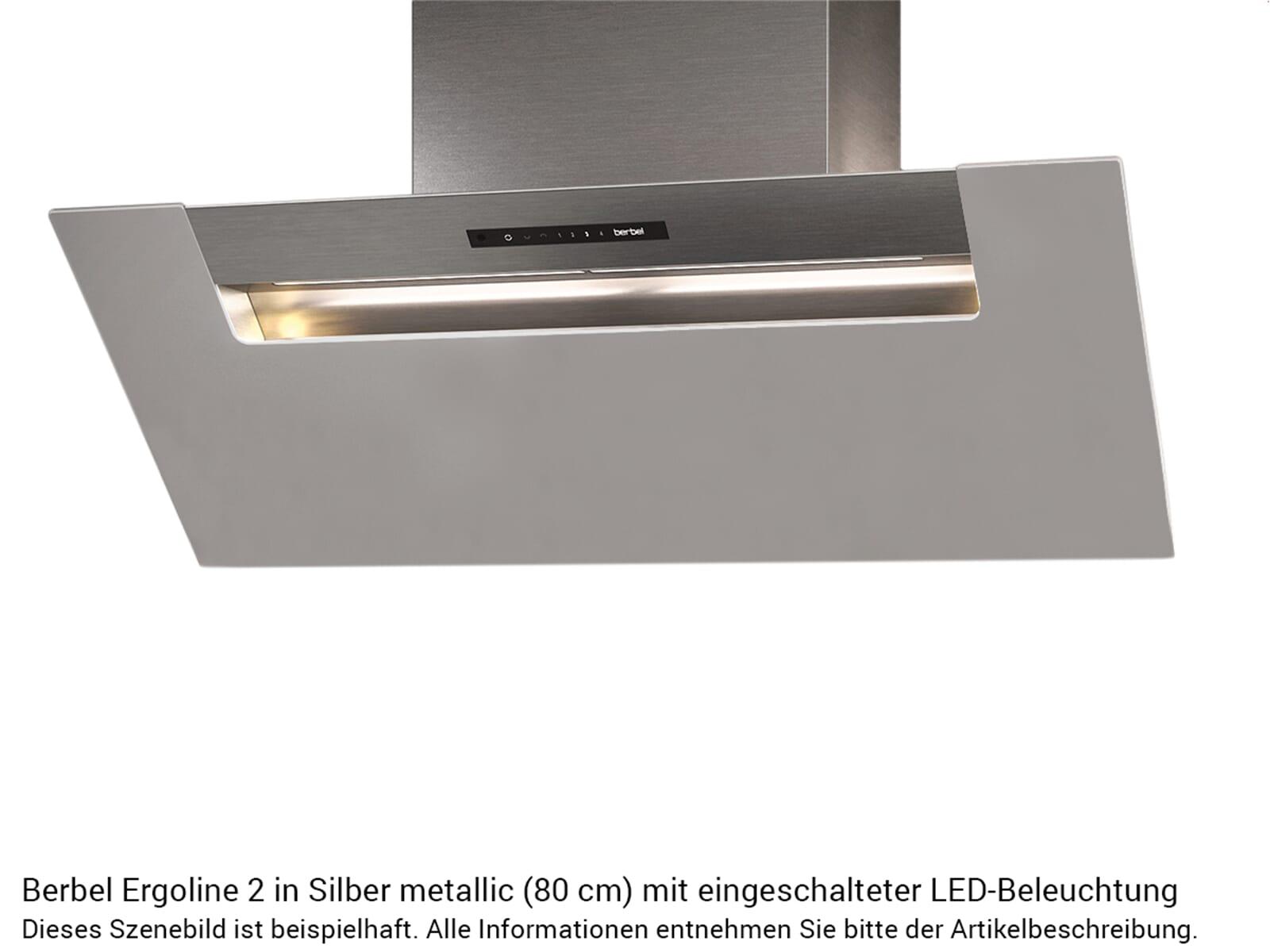 Berbel Ergoline 2 BKH 120 EG 2 Kopffreihaube Silber metallic
