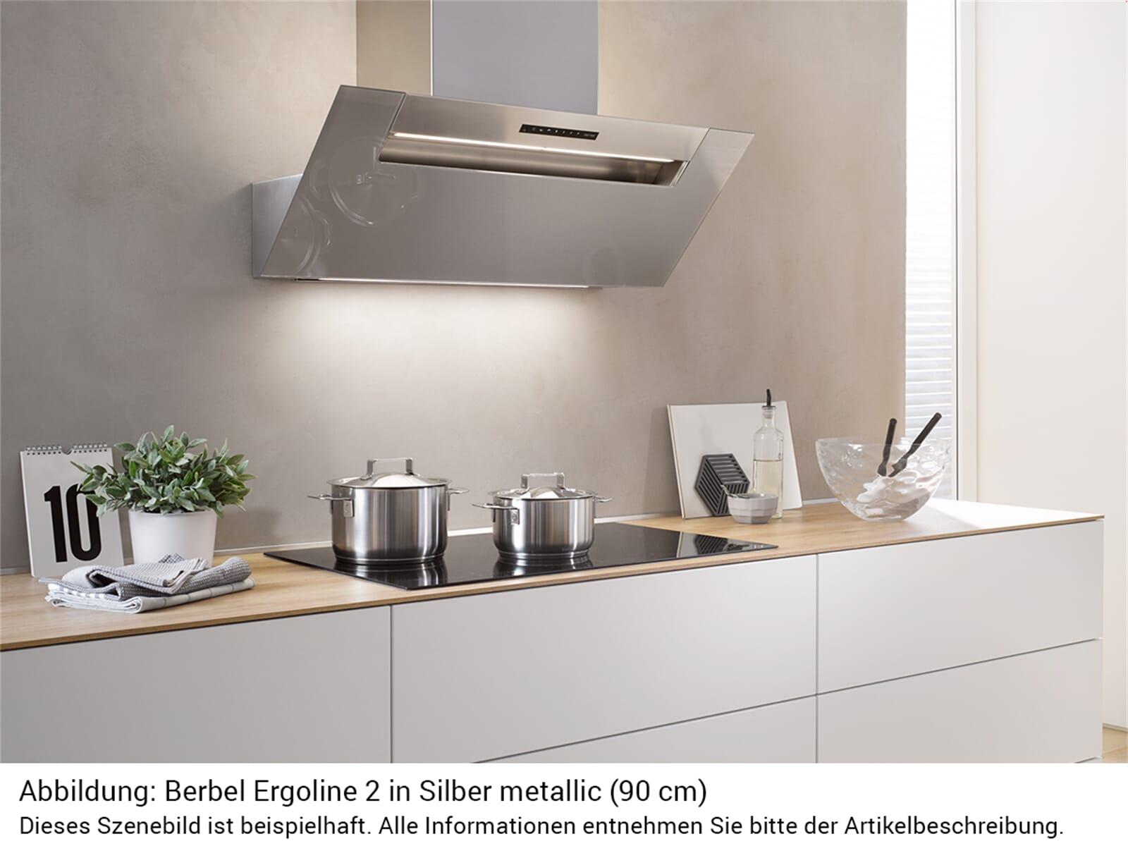 Berbel Ergoline 2 BKH 70 EG 2 Kopffreihaube Silber metallic