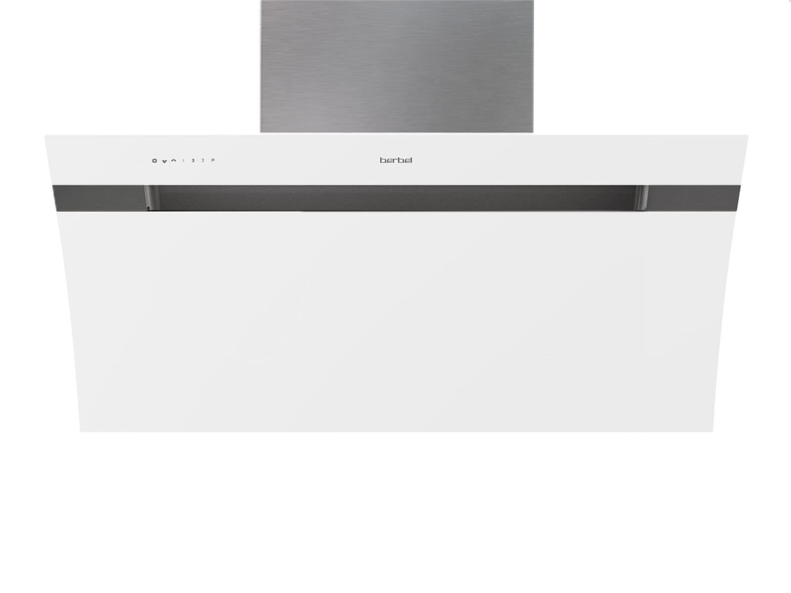Berbel glassline 2 bkh 90 gl 2 kopffreihaube weiß