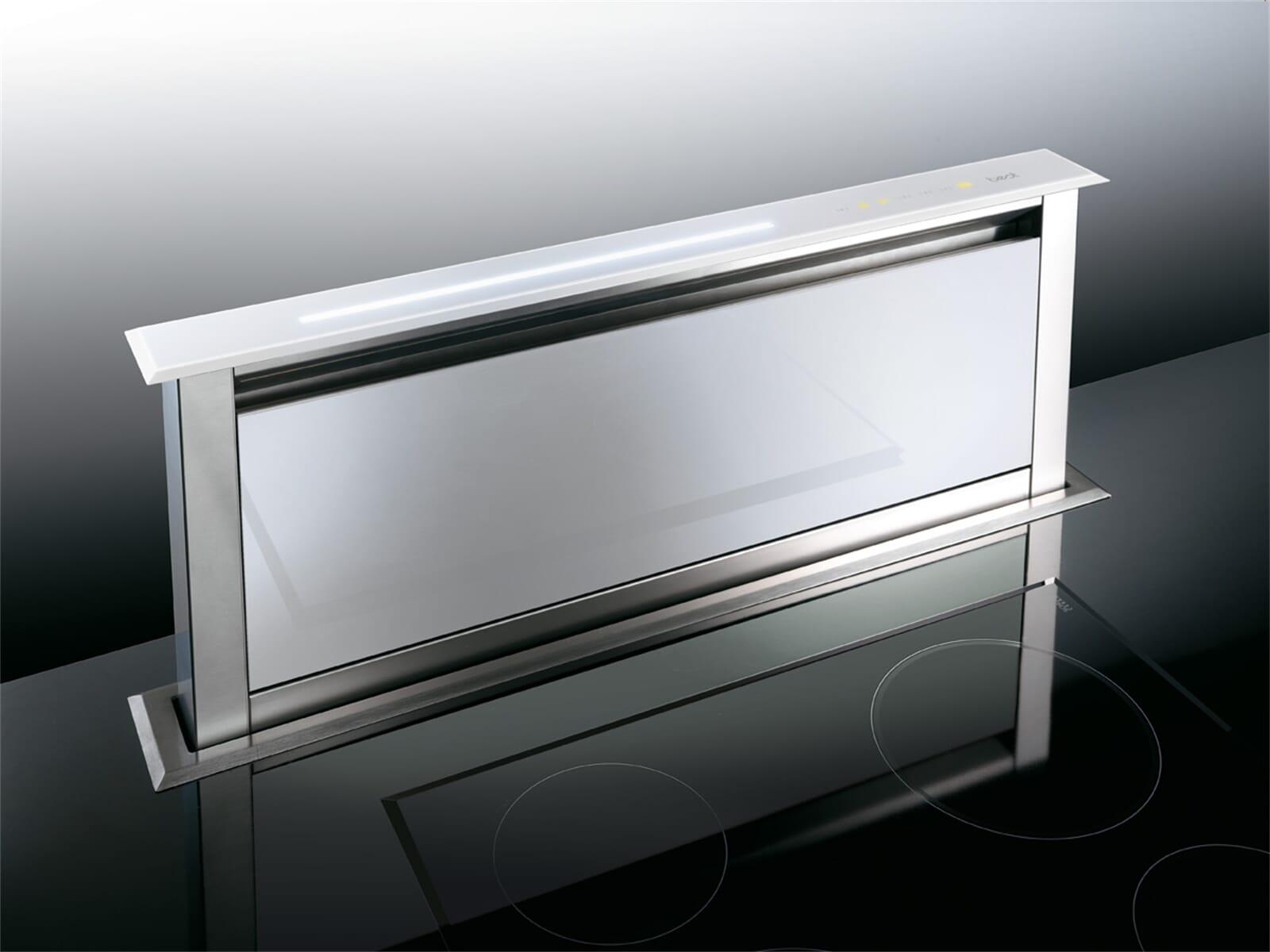 Best Lift Tischhaube Edelstahl/Weiß