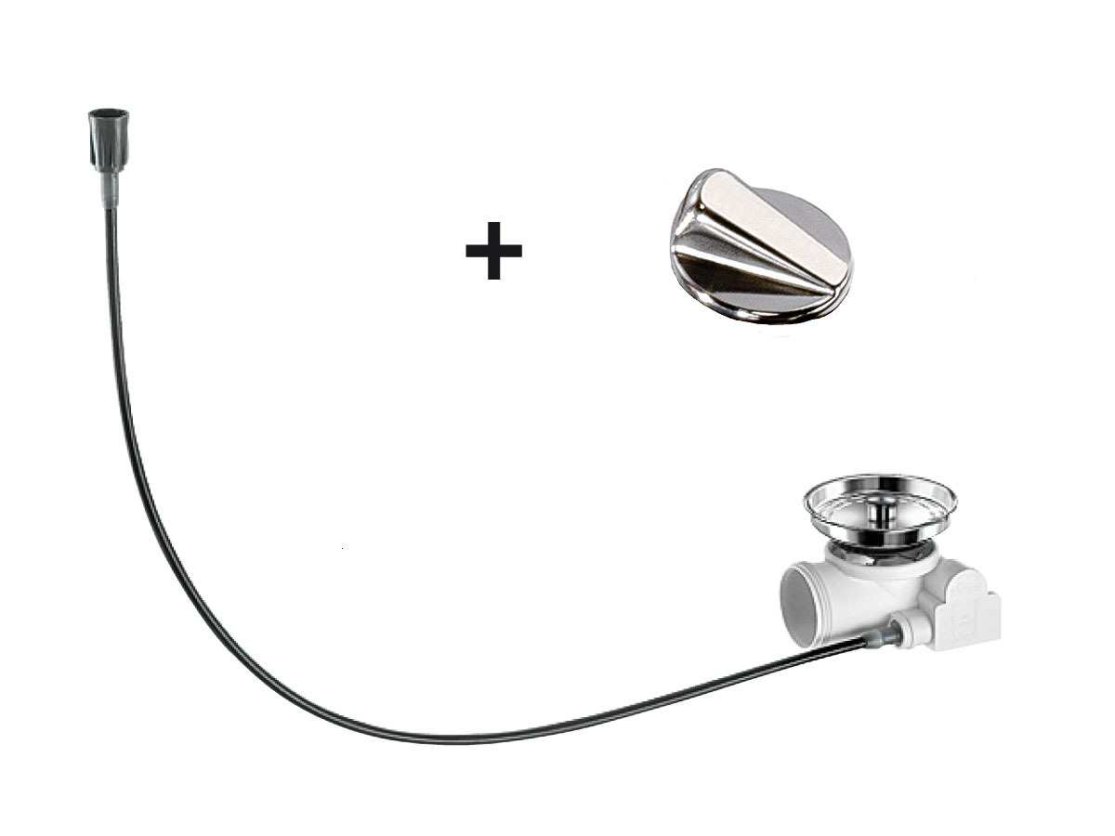 Blanco Exzenter-Nachrüst-Set rund Chrom