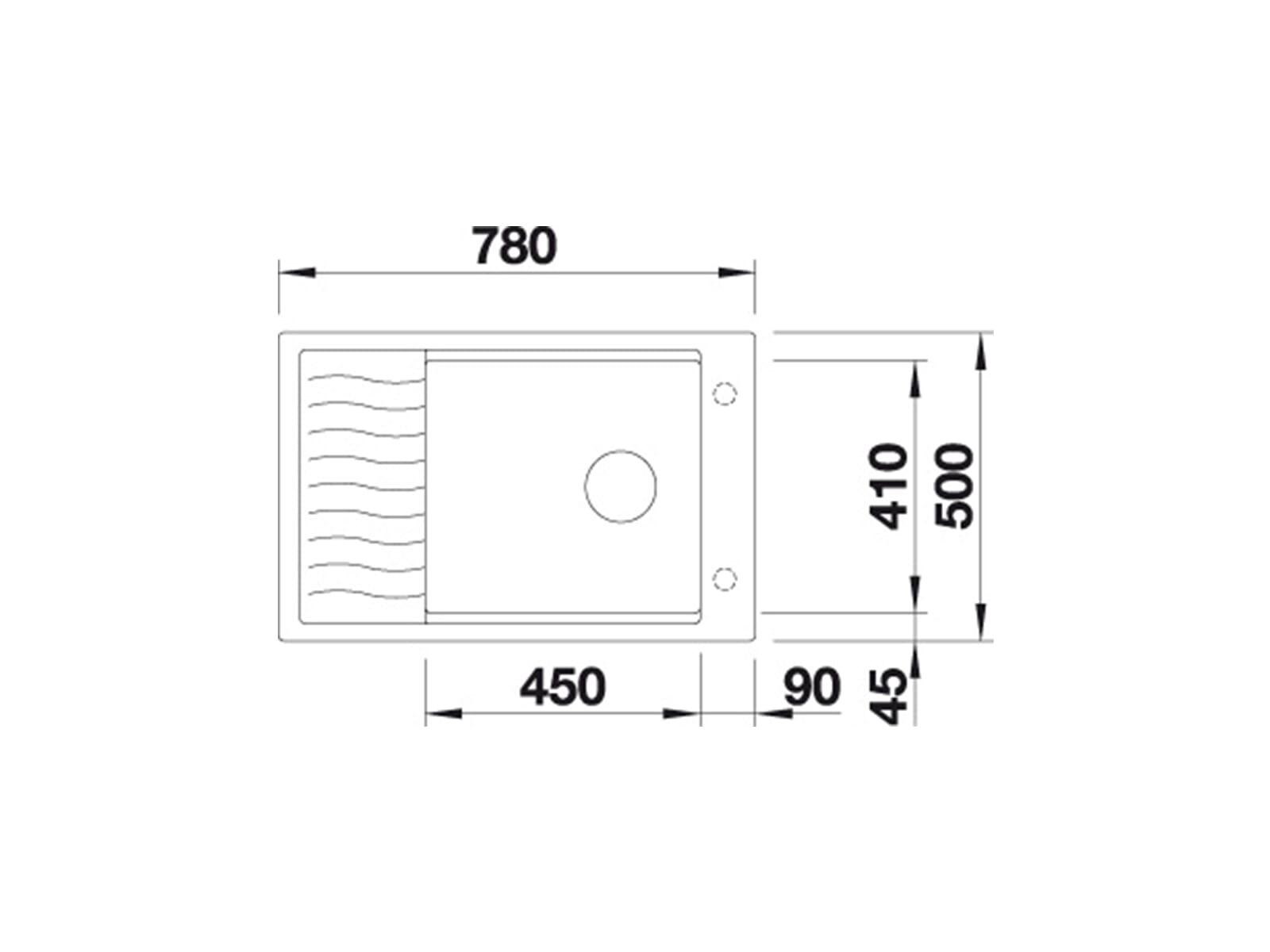 Blanco Elon XL 6 S Muskat - 521 863 Granitspüle