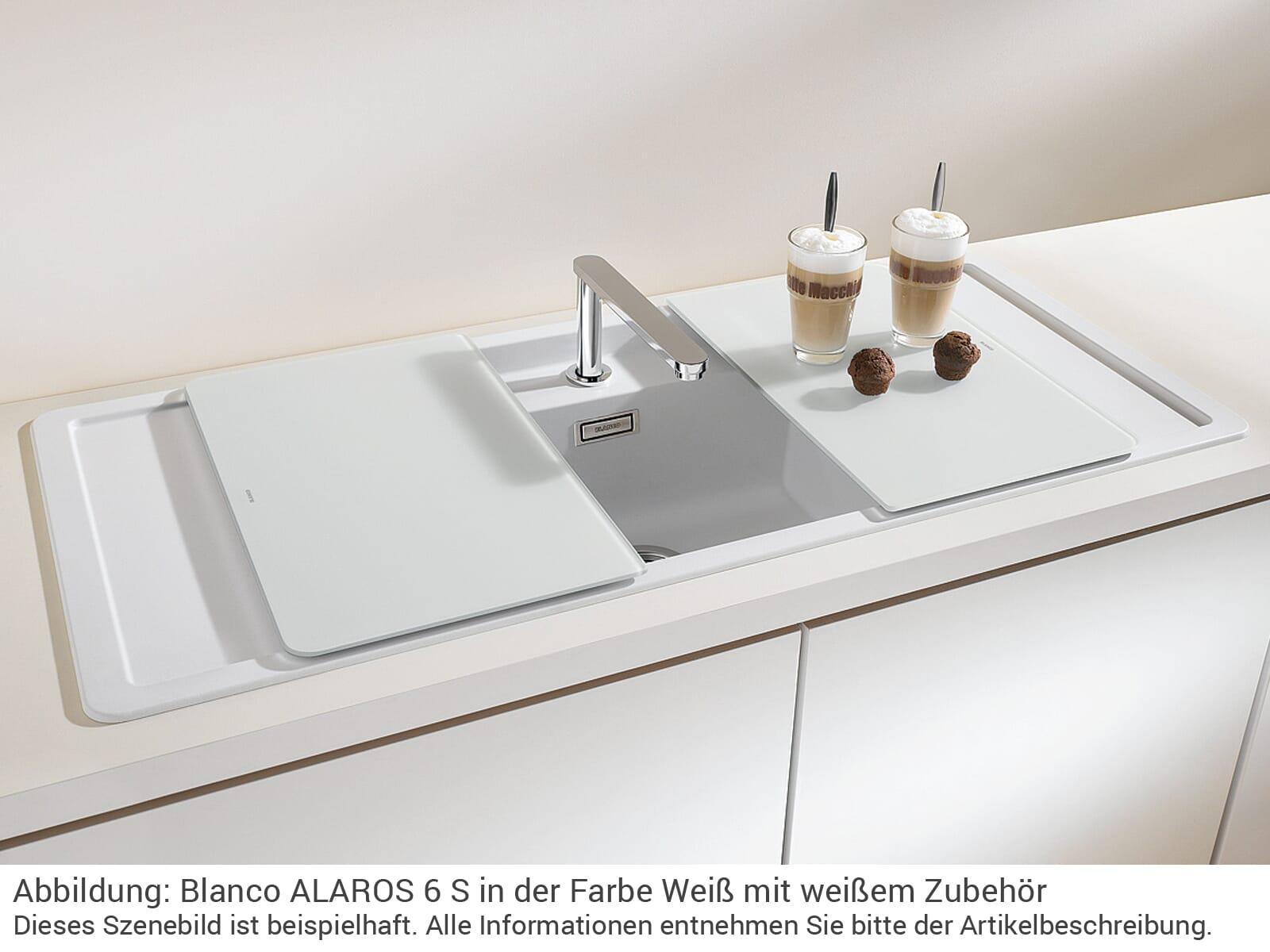 Blanco Alaros 6 S Weiss 523 627 Granitspule