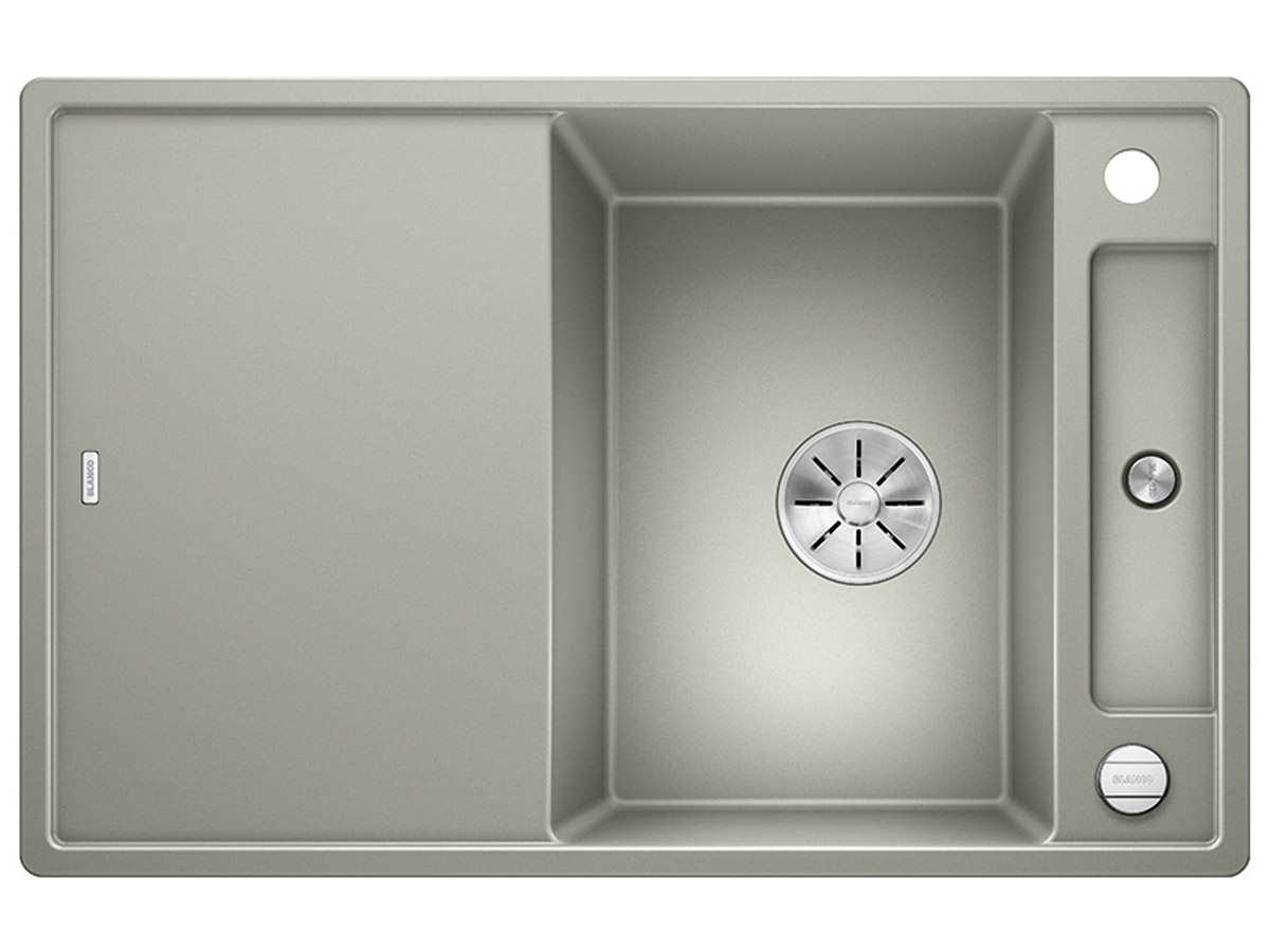 Blanco Axia III 45 S Perlgrau - 523 186 Granitspüle