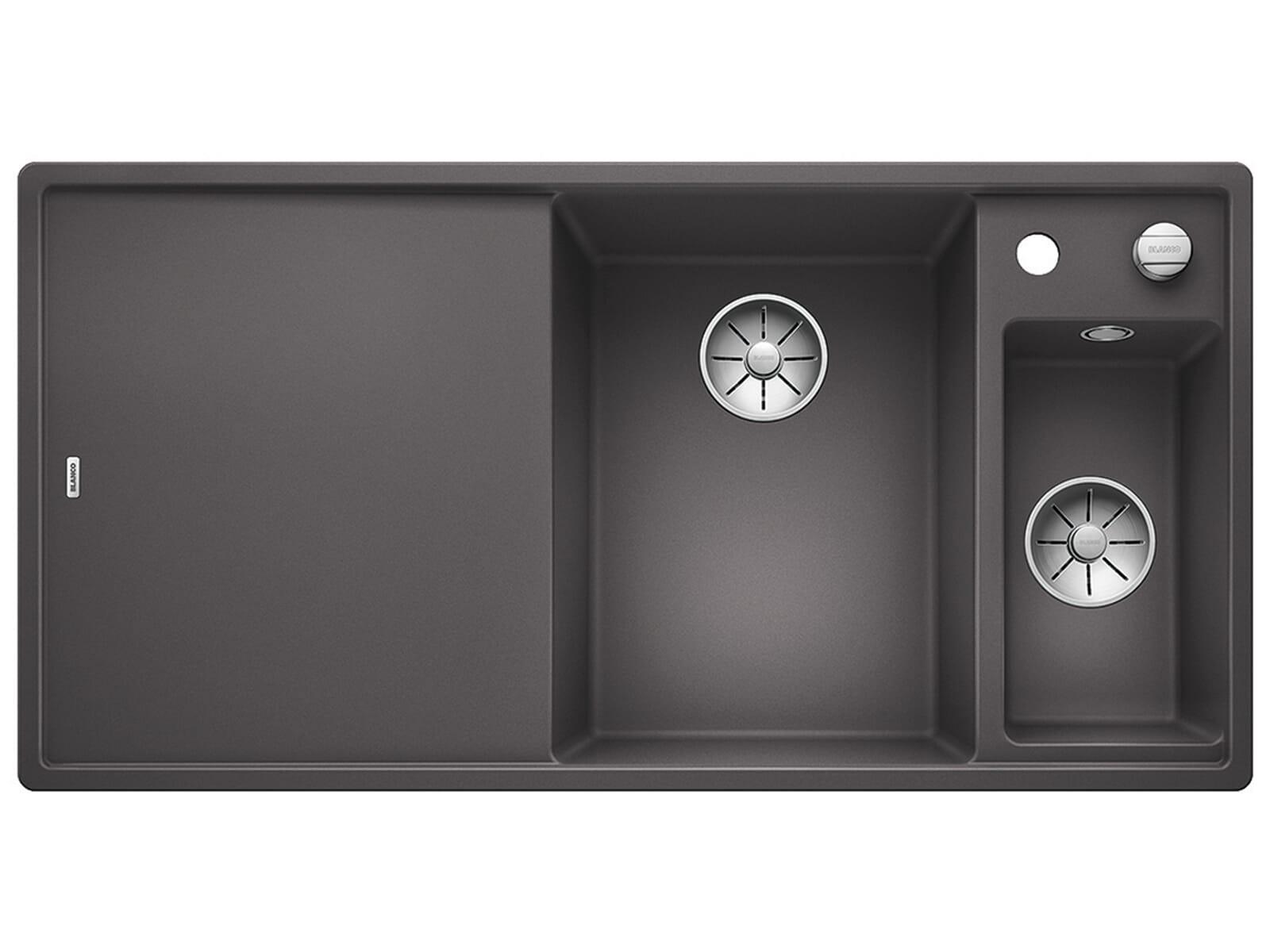 Produktabbildung Blanco Axia III 6 S-F Felsgrau - 523 484 Granitspüle