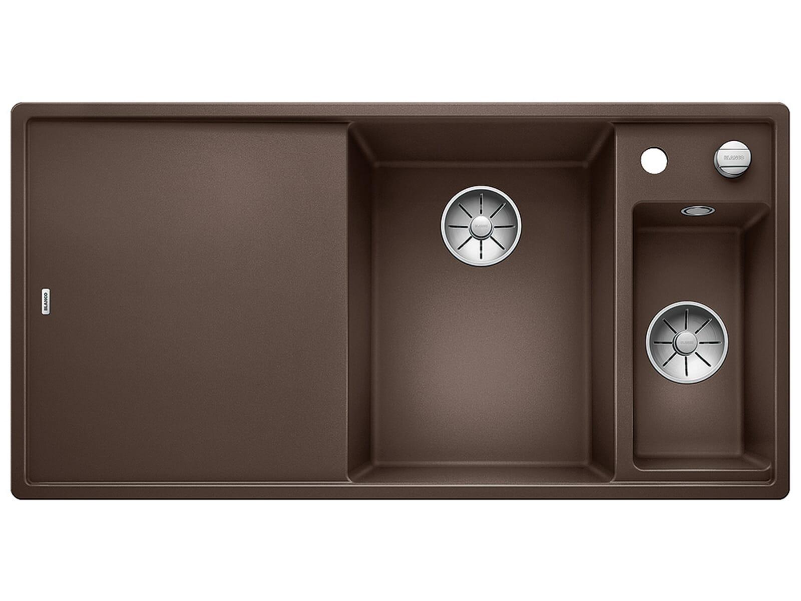 Blanco Axia III 6 S-F Cafe - 523 494 Granitspüle