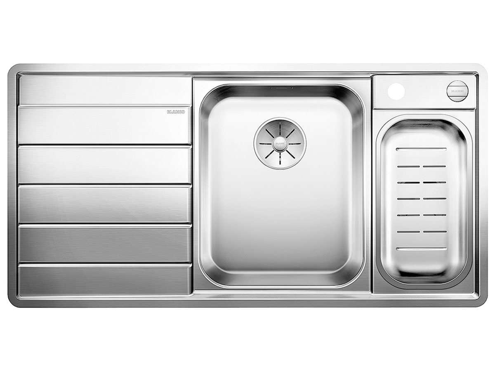 Blanco Axis III 6 S-IF Edition Edelstahlspüle Seidenglanz 522106 Becken rechts