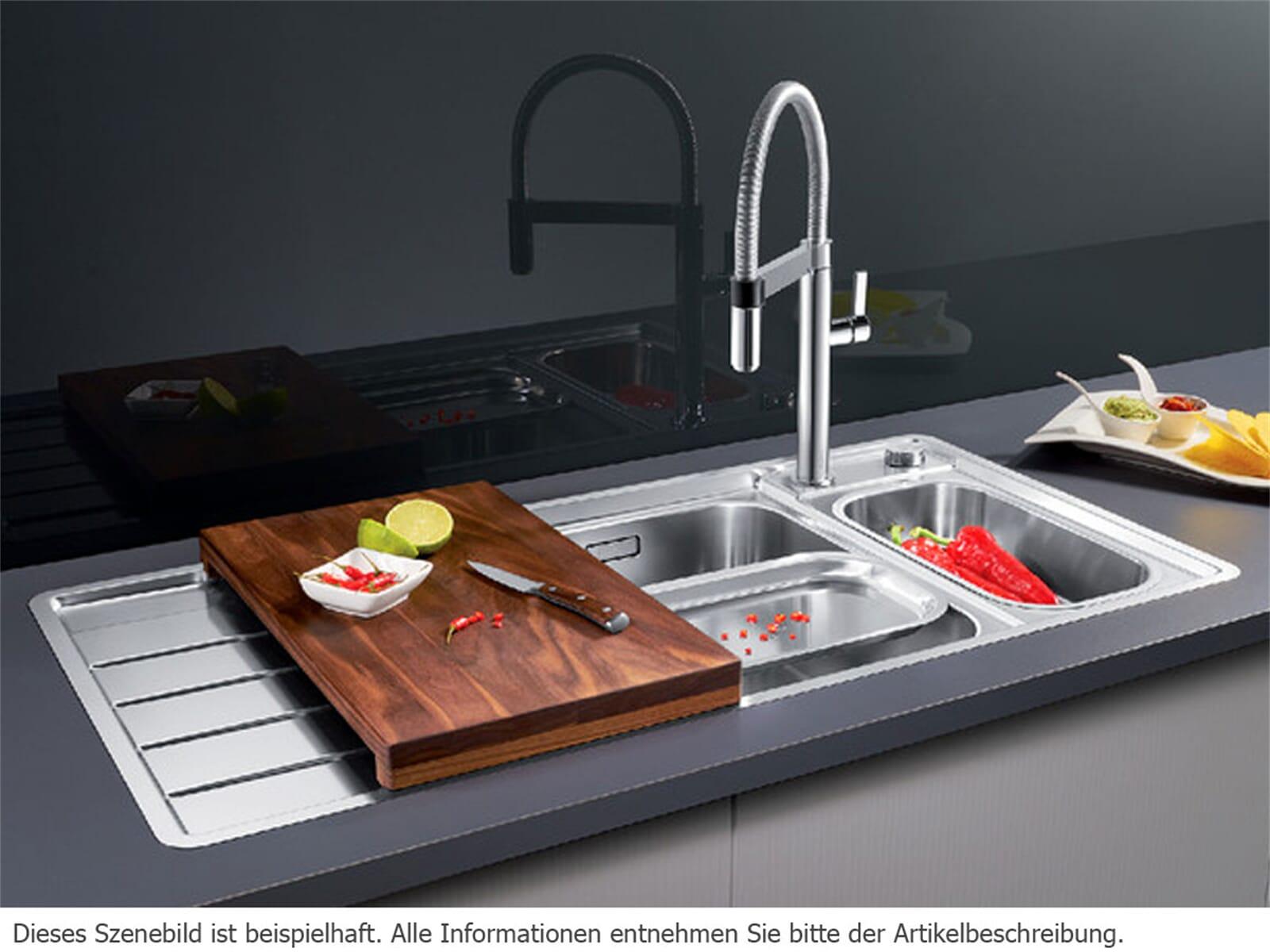 Blanco Axis III 6 S-IF Edition Edelstahlspüle Seidenglanz  522 106