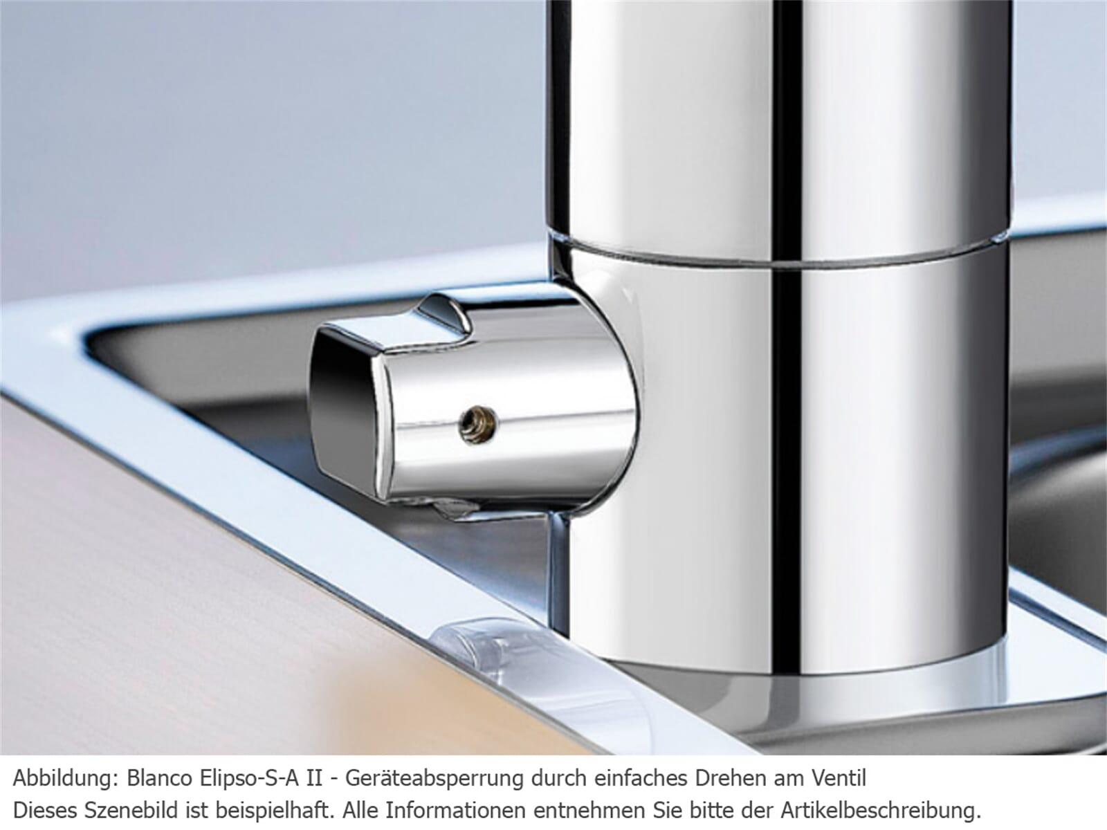 Blanco Elipso-S-A II Chrom Hochdruckarmatur