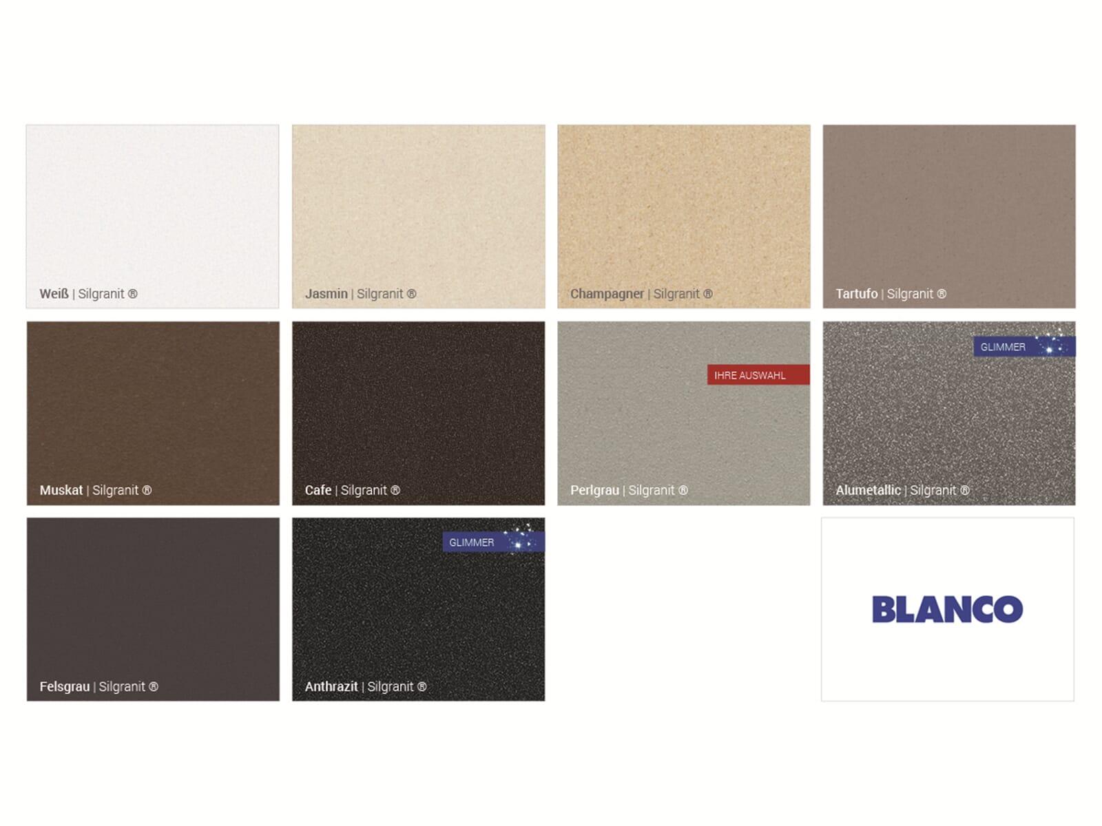 Blanco Antas Perlgrau/Chrom - 520 731 Hochdruckarmatur