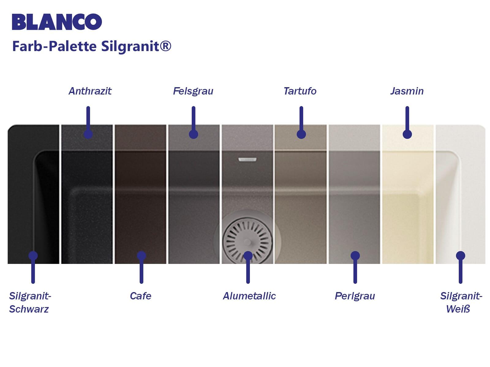 Blanco Zia 45 S Cafe - 515 069 Granitspüle