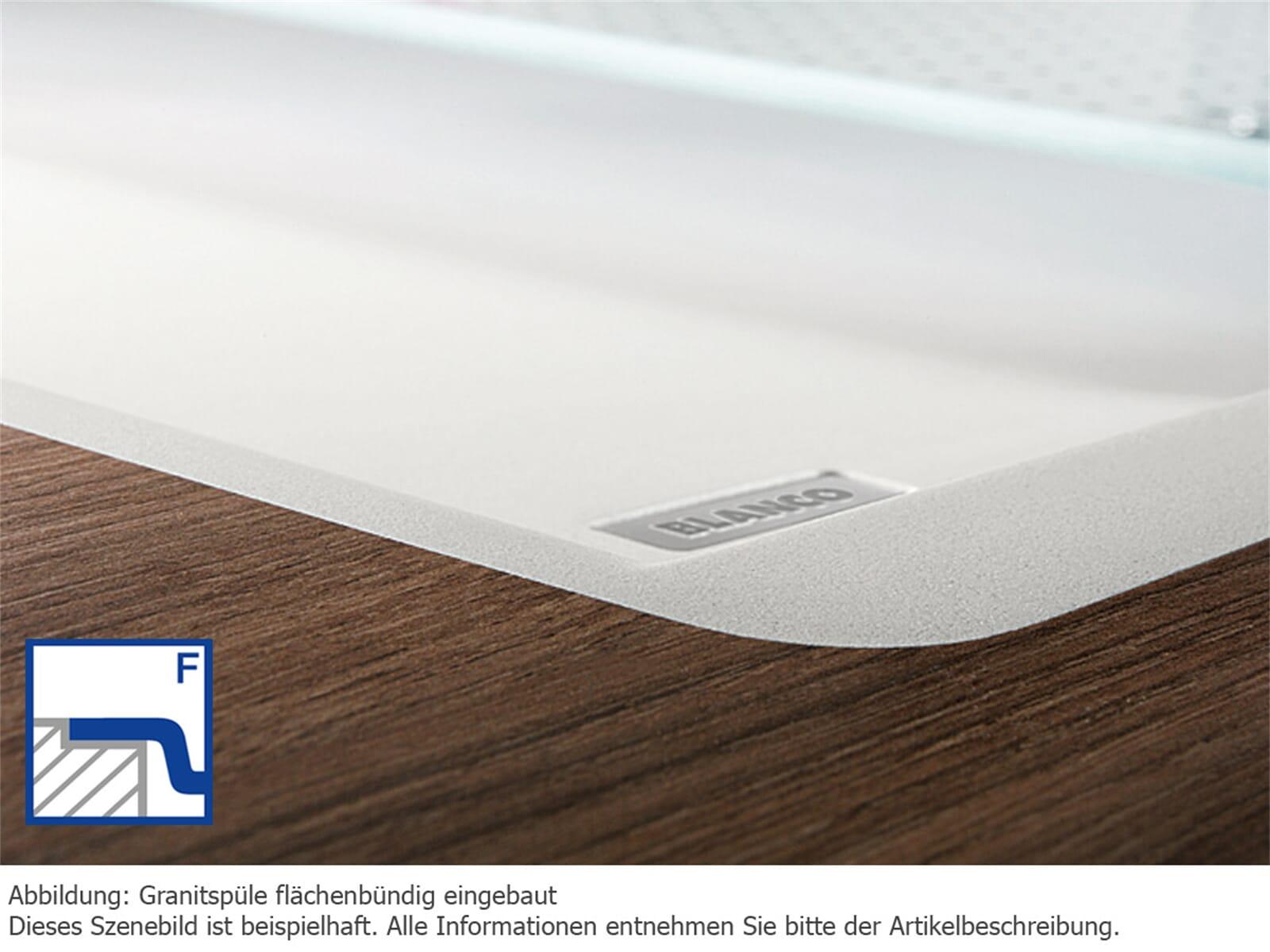 Blanco Metra 45 S-F Alumetallic Granitspüle