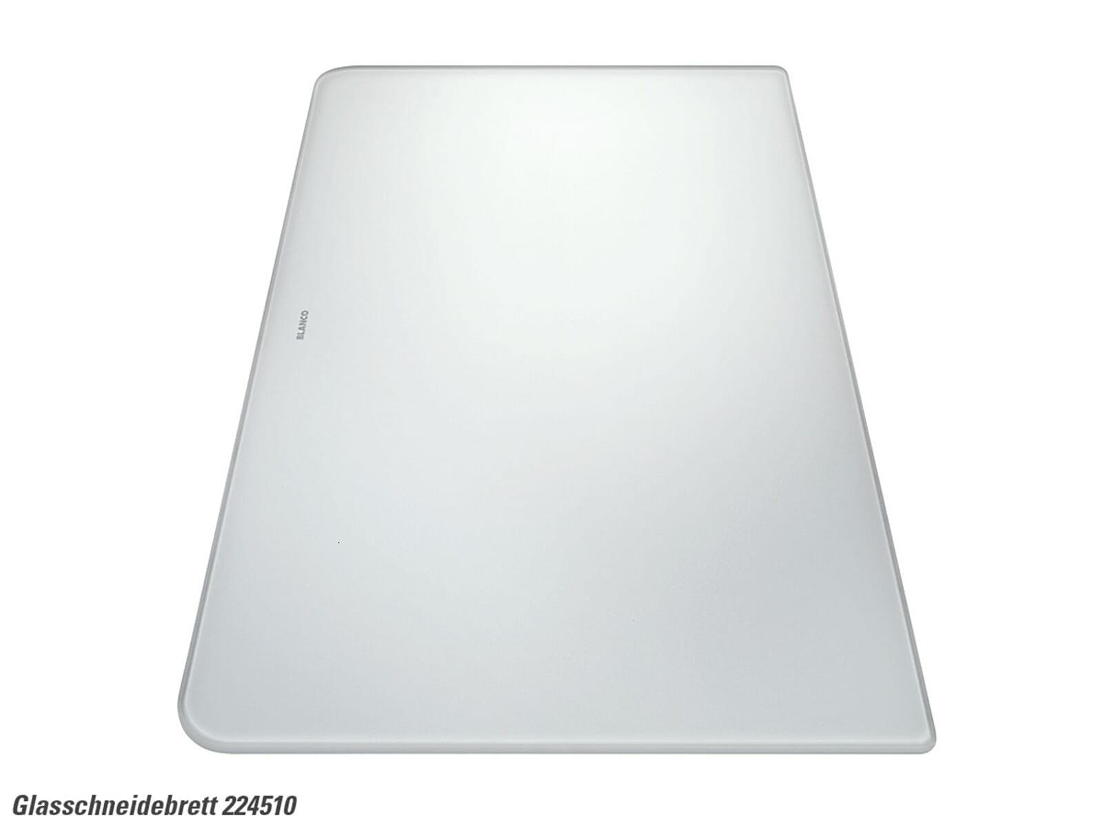 Blanco 224 510 Glasschneidebrett weiß