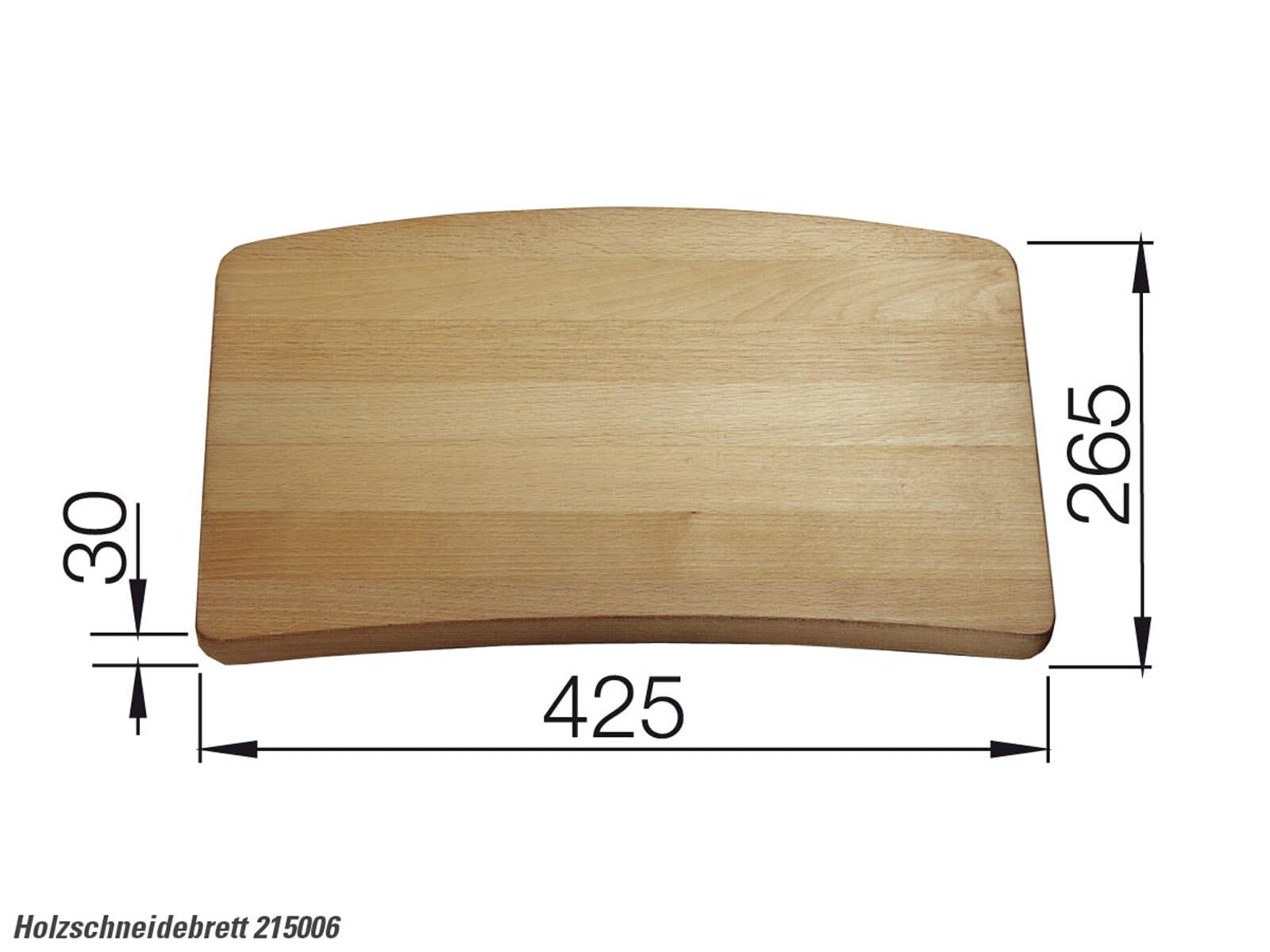 Blanco 215 006 Holzschneidebrett Buche