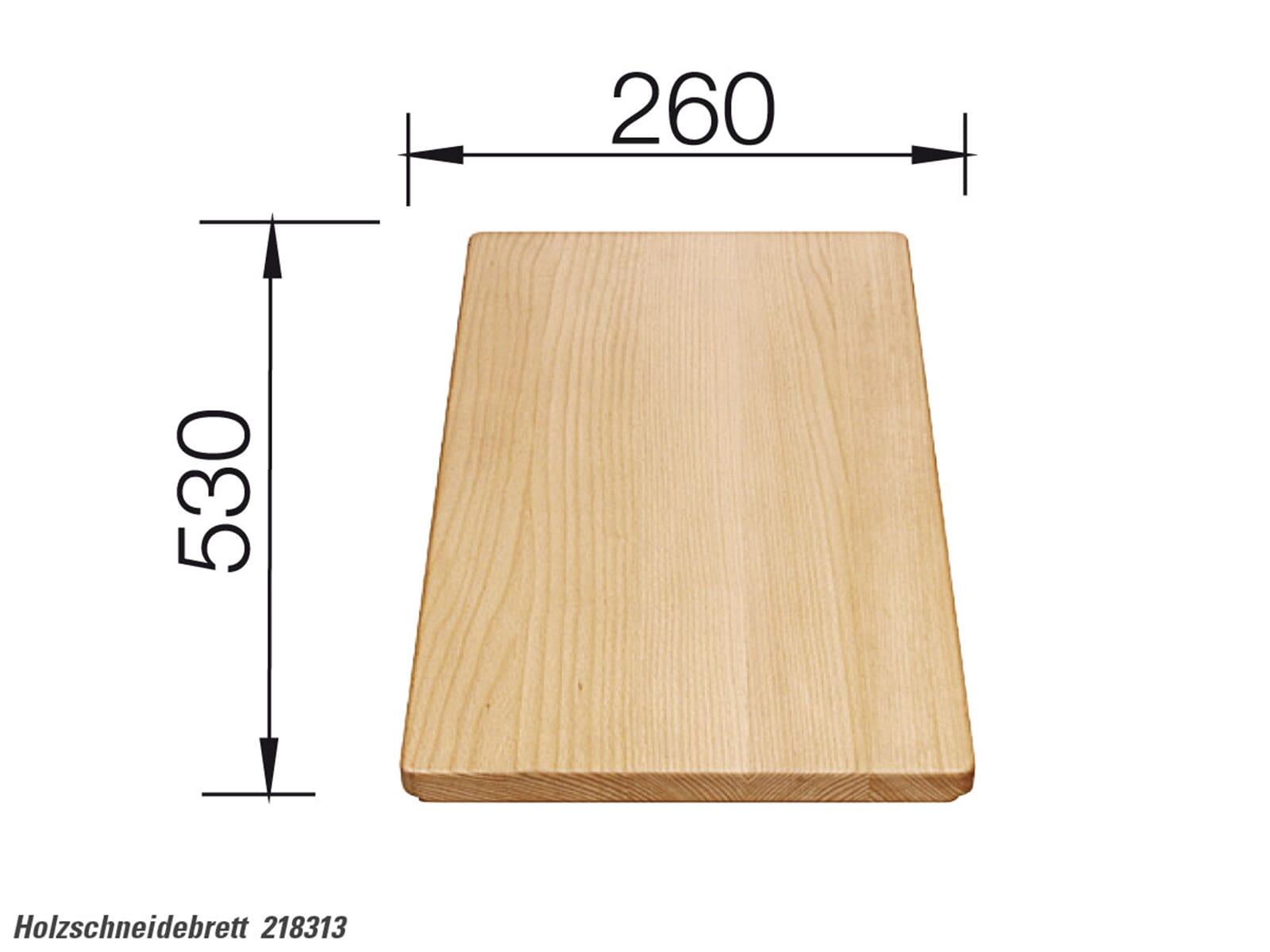 Blanco 218 313 Holzschneidebrett Buche