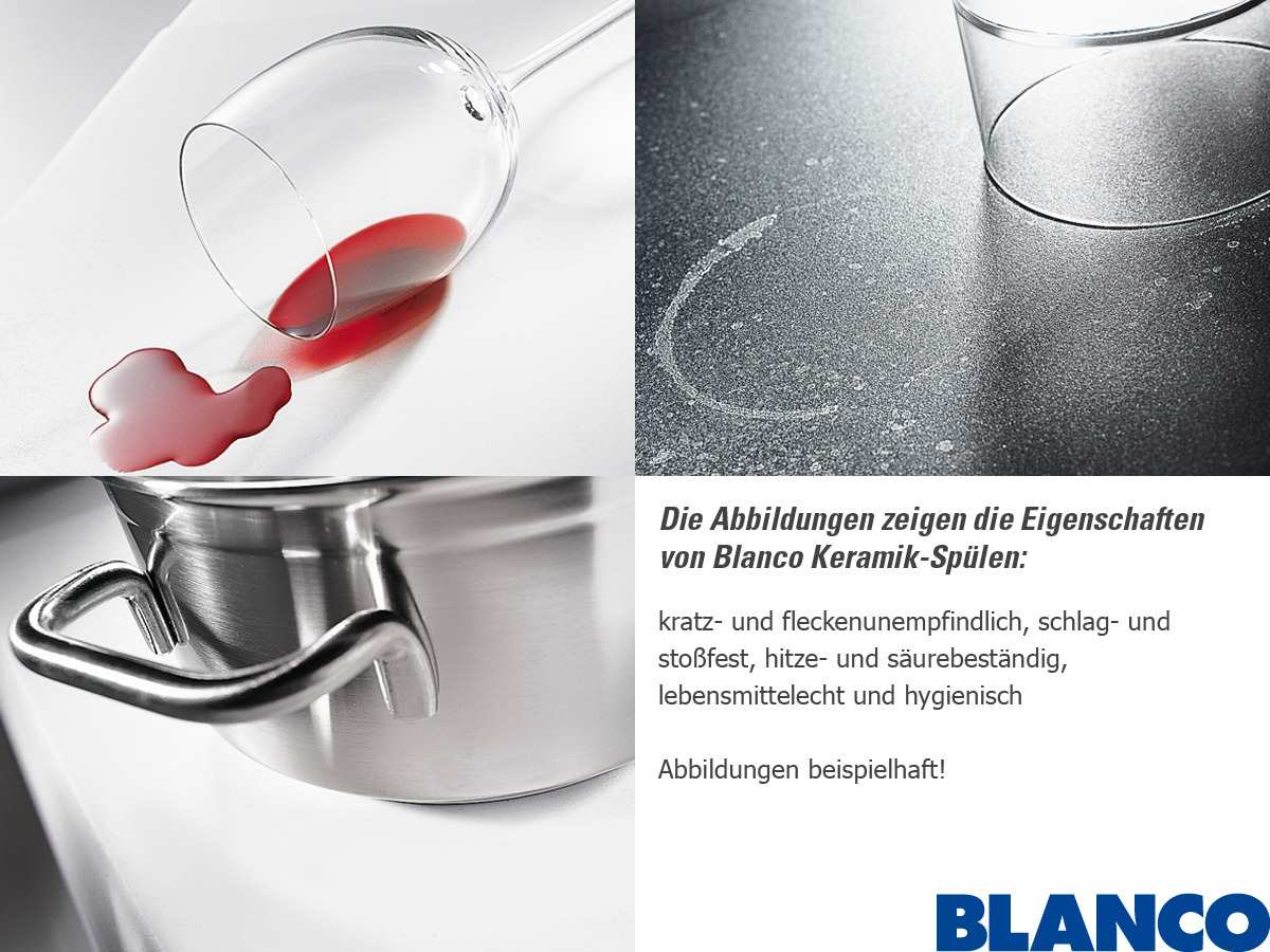 Blanco Prion 45 S Alugrau Keramikspüle