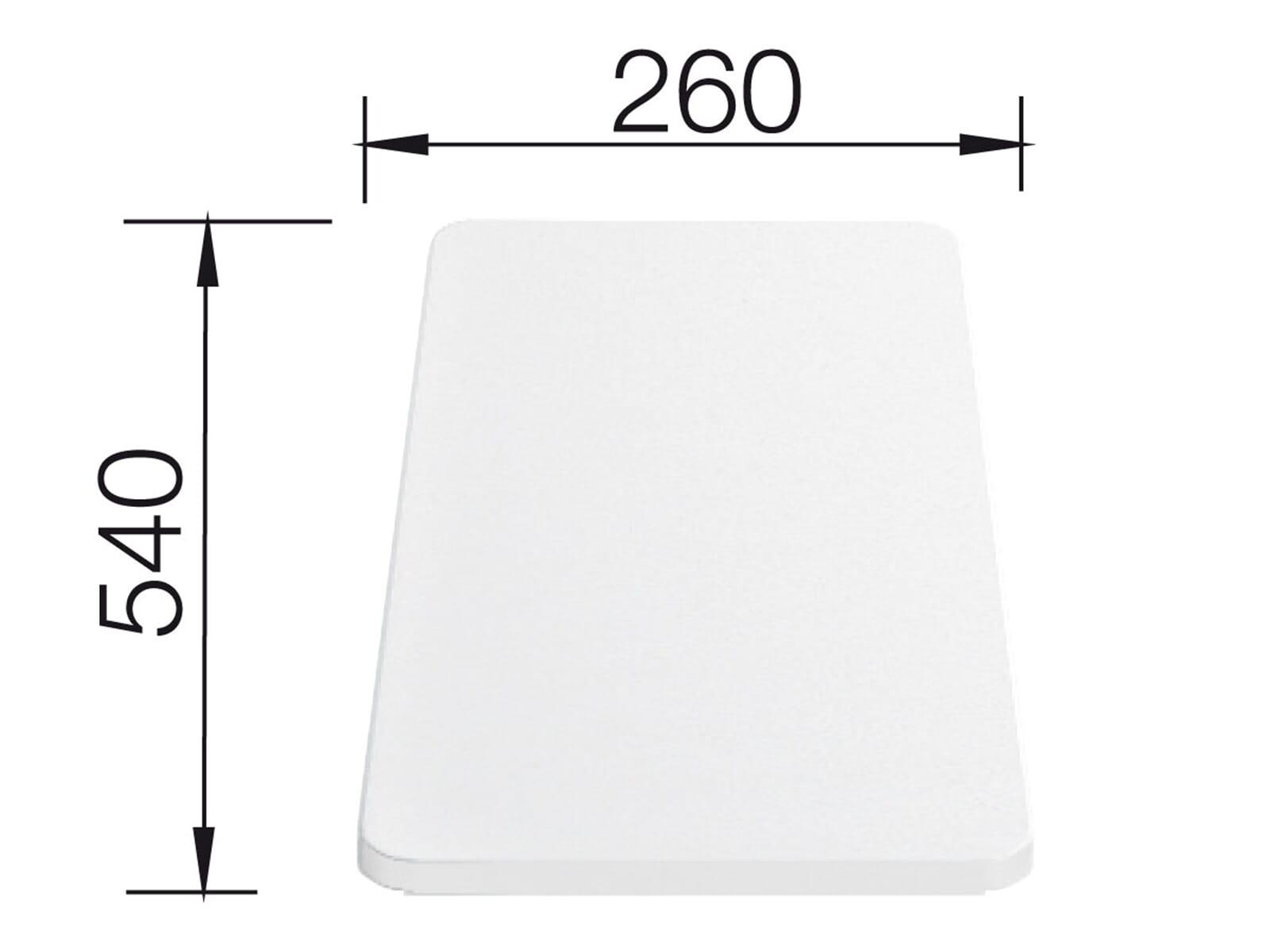 Blanco 210 521 Kunststoffschneidebrett