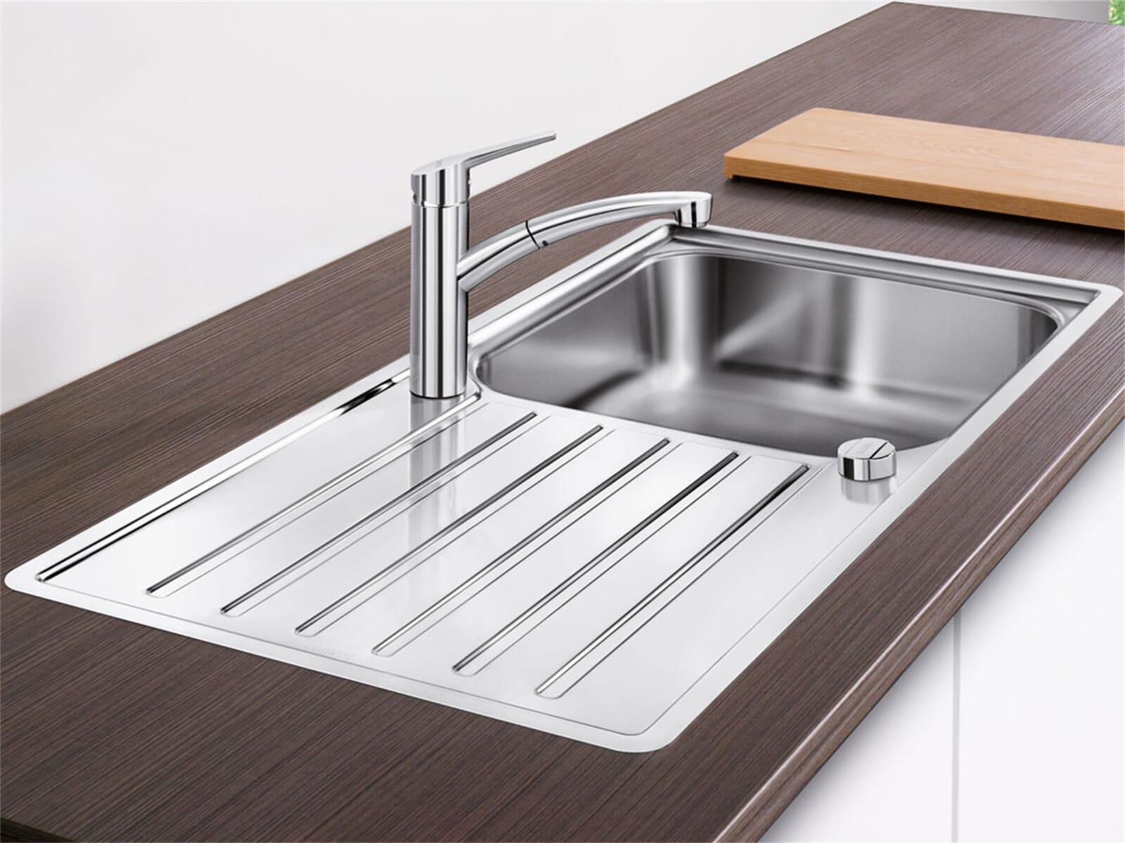 blanco lantos xl 6 s if edelstahlsp le b rstfinish. Black Bedroom Furniture Sets. Home Design Ideas