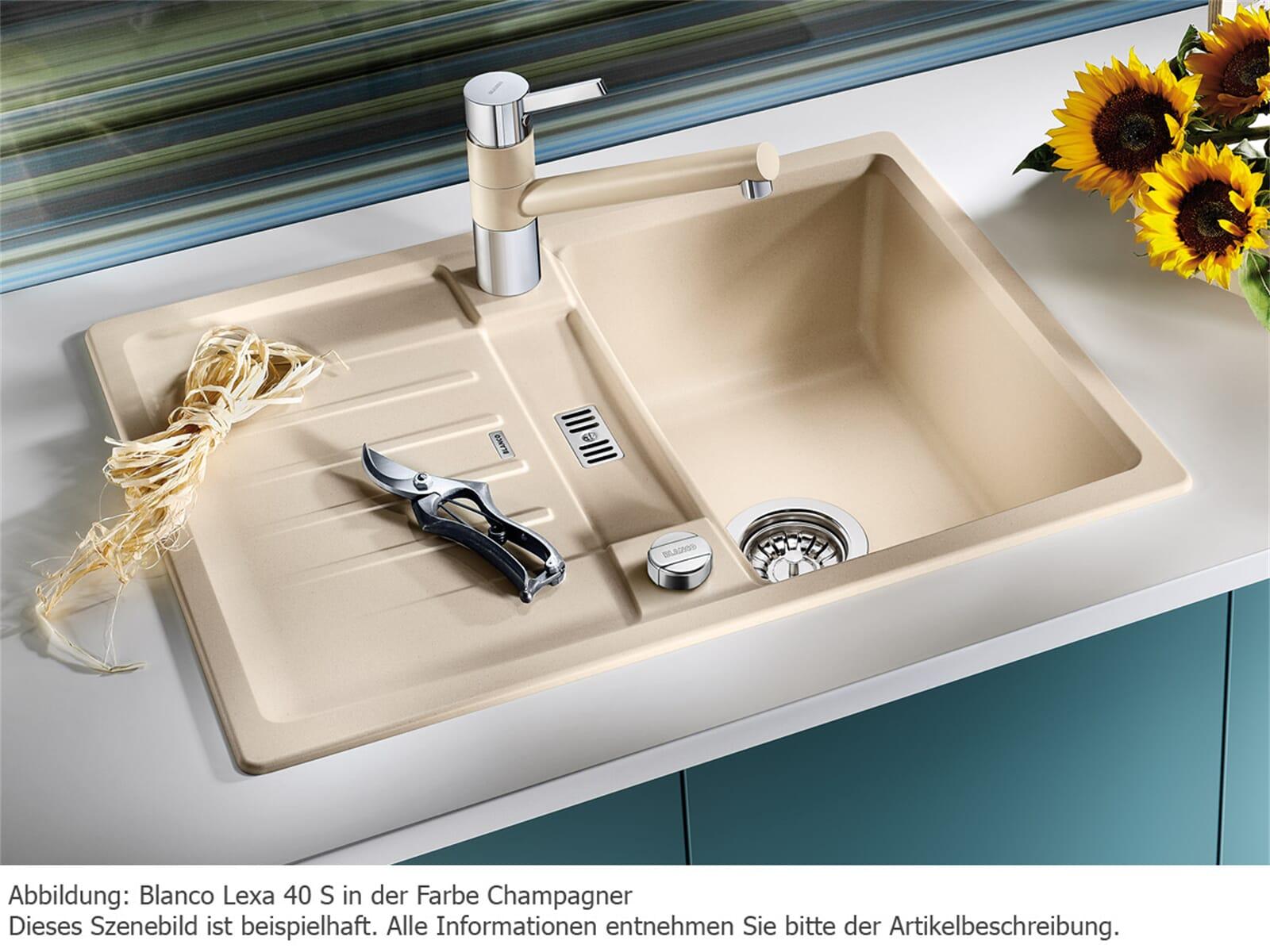 Blanco Lexa 40 S Champagner - 518 627 Granitspüle