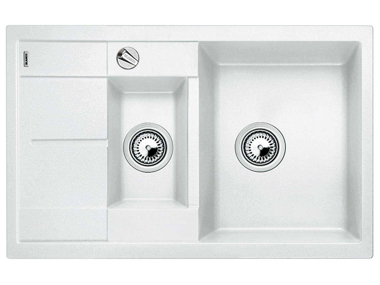 Blanco Metra 6 S Compact Weiß Granitspüle
