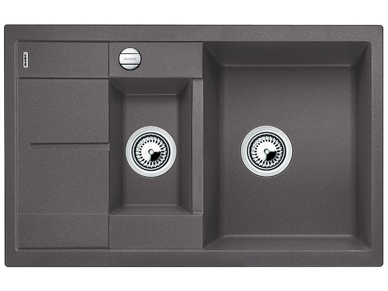 blanco metra 6 s compact felsgrau granitsp le. Black Bedroom Furniture Sets. Home Design Ideas