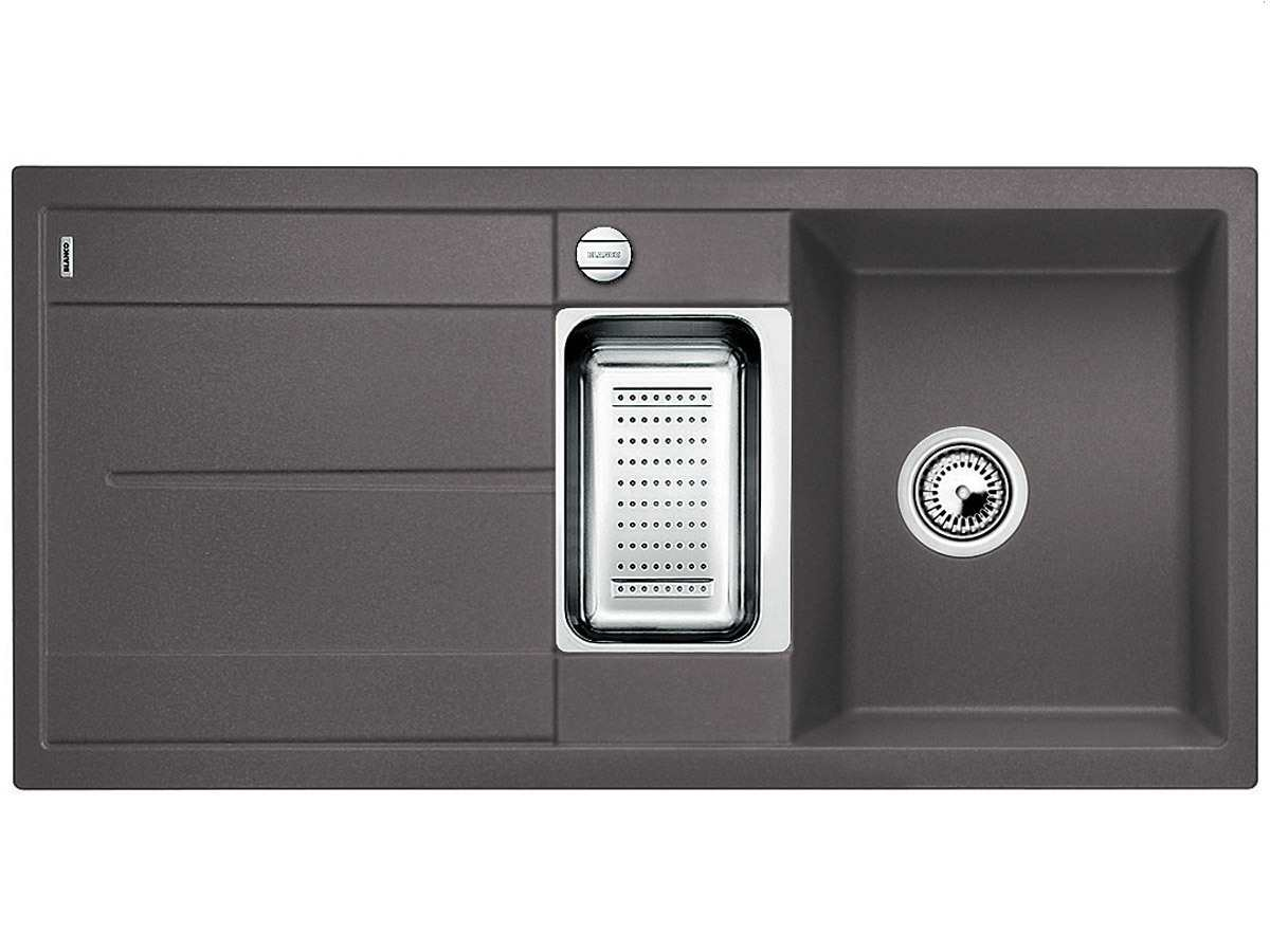 blanco metra 6 s felsgrau granitsp le. Black Bedroom Furniture Sets. Home Design Ideas