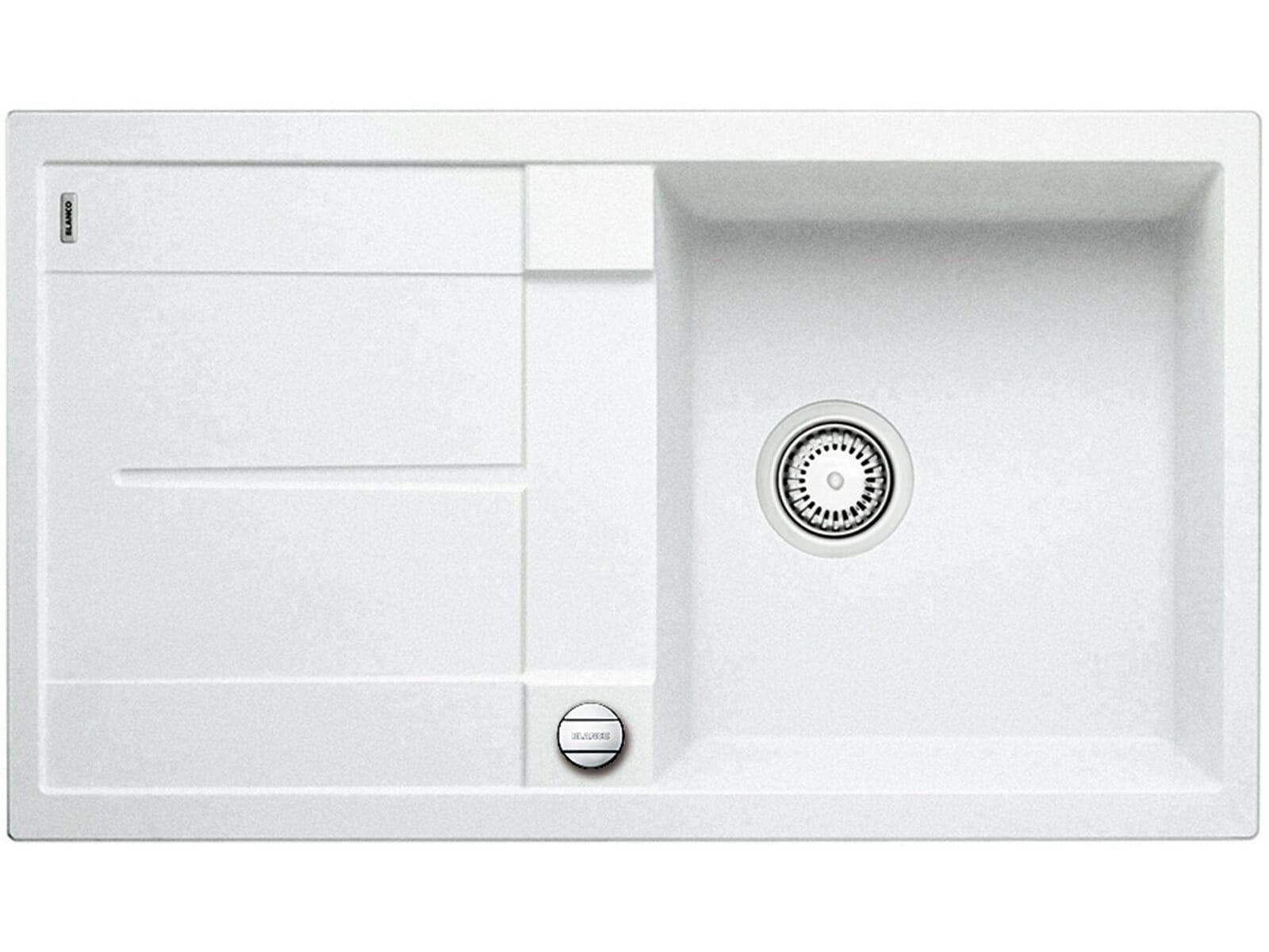 Blanco Metra 5 S-F Weiß Granitspüle