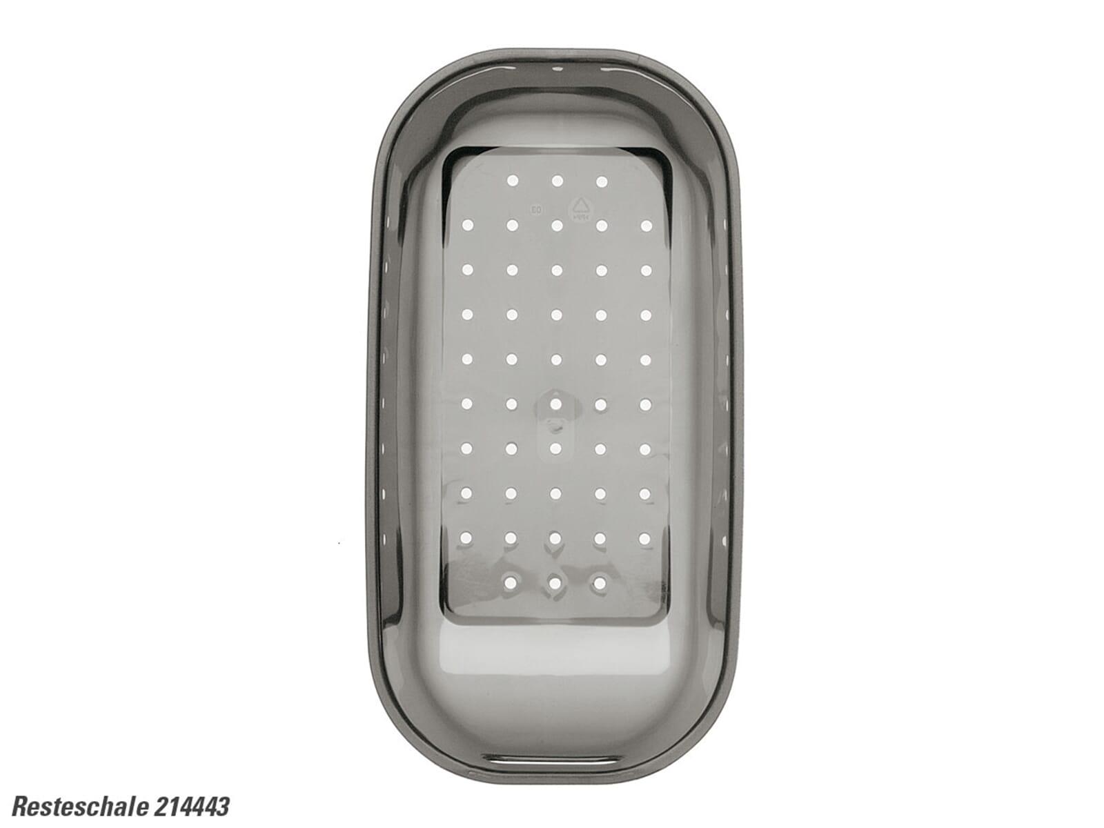 Blanco 214 443 Resteschale Kunststoff transparent grau