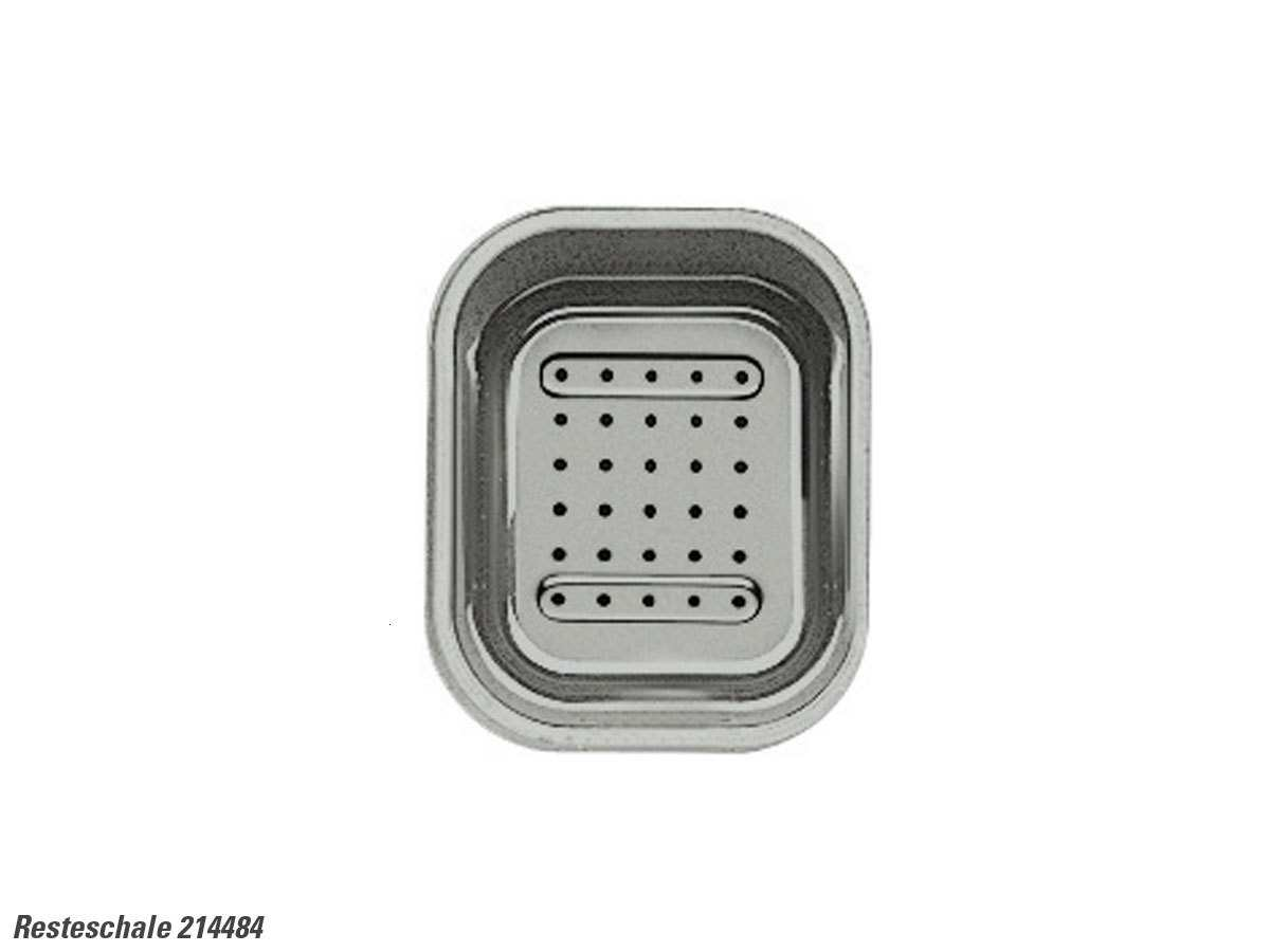 Blanco 214 484 Resteschale Kunststoff grau