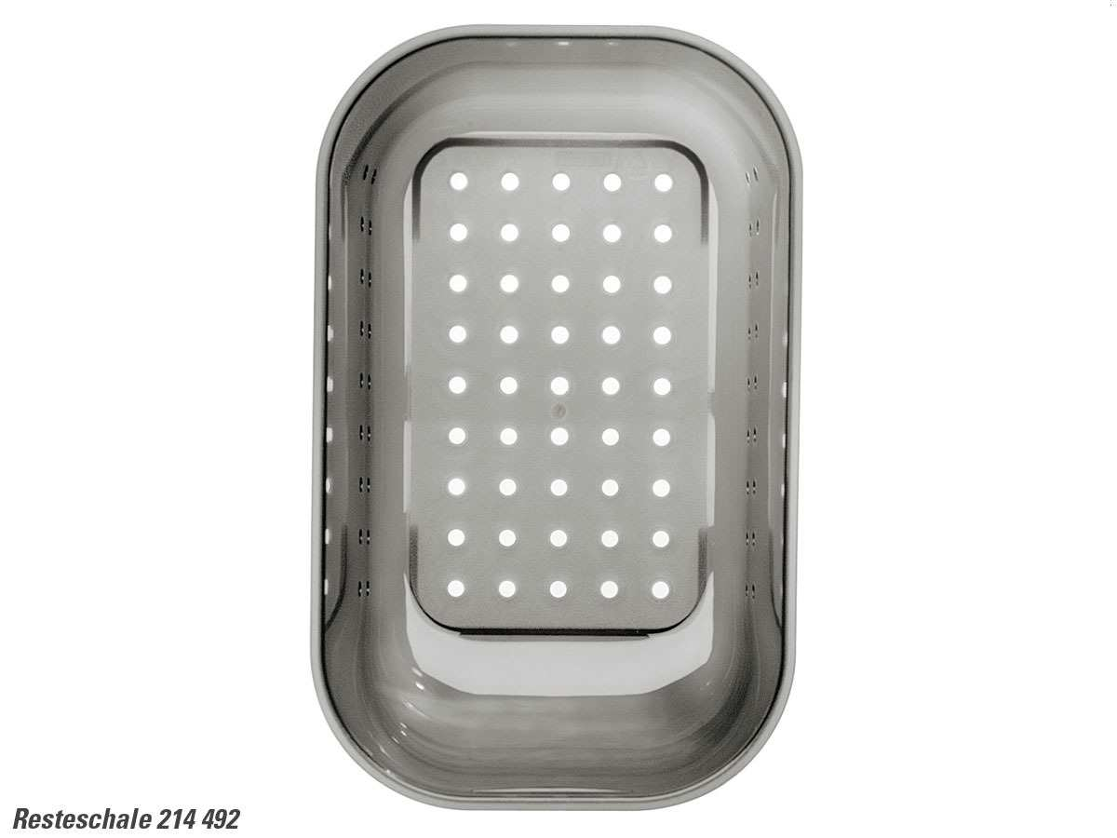 Blanco 214 492 Resteschale Kunststoff grau