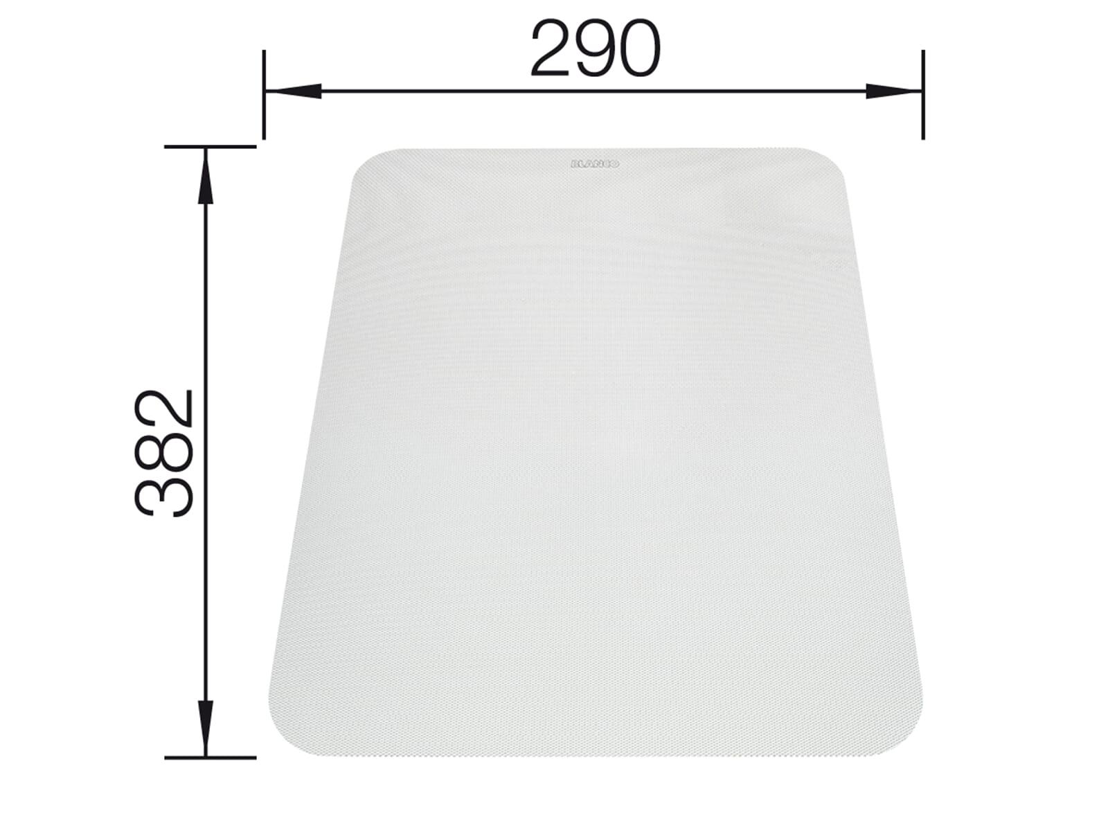 Blanco 225 469 Flexible Schneideauflage Weiß