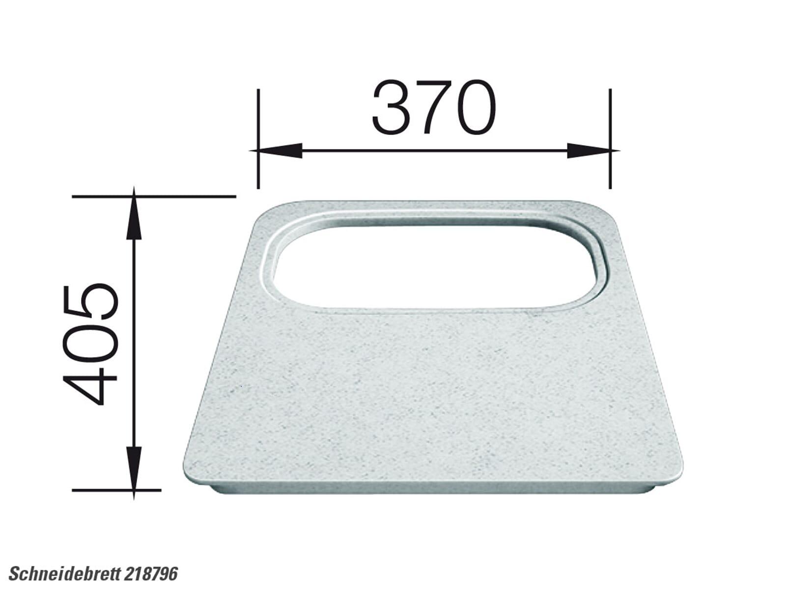 Blanco 218 796 Kunststoffschneidebrett