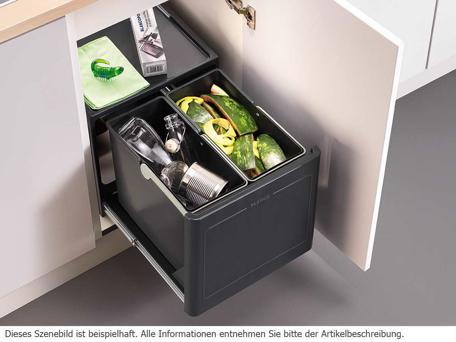 Blanco Botton Pro 45/2 Automatic Einbau Abfallsammler